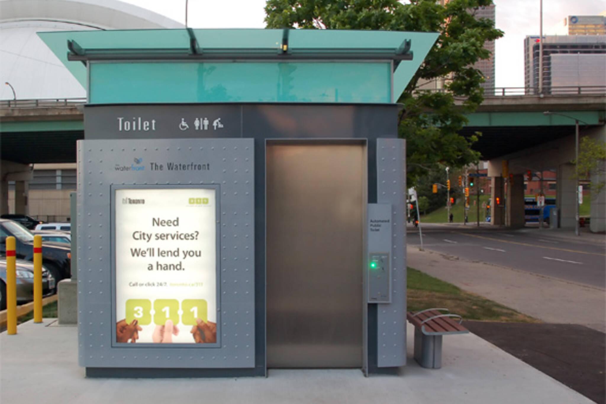 public pay toilet toronto