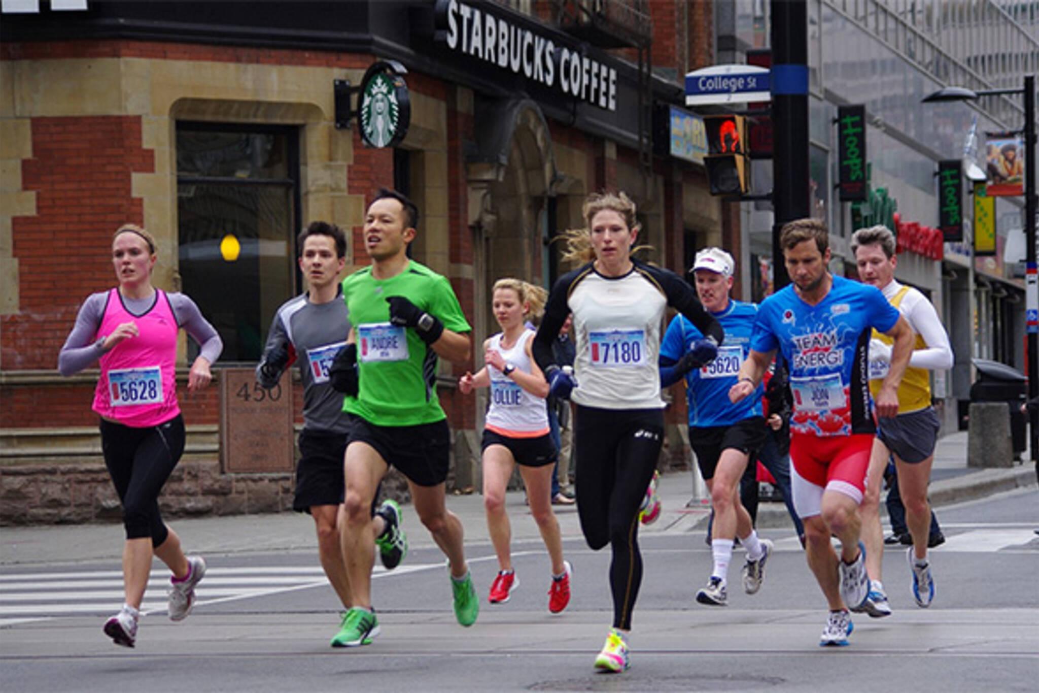 spring running events toronto