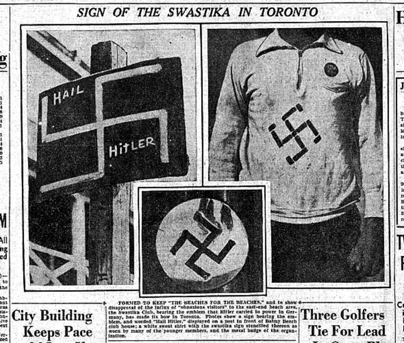 that time antisemitism blighted toronto
