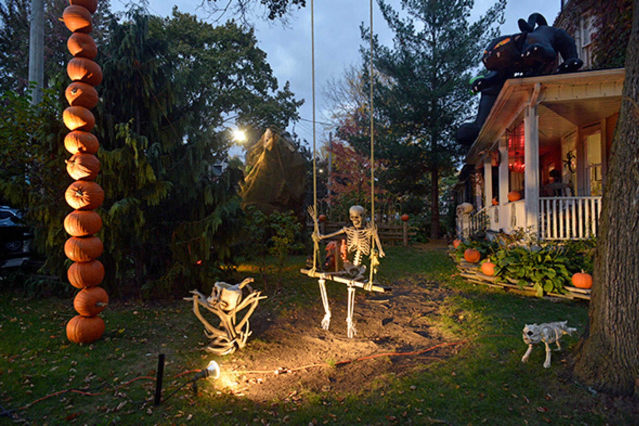 Best Decorated Halloween Houses Toronto