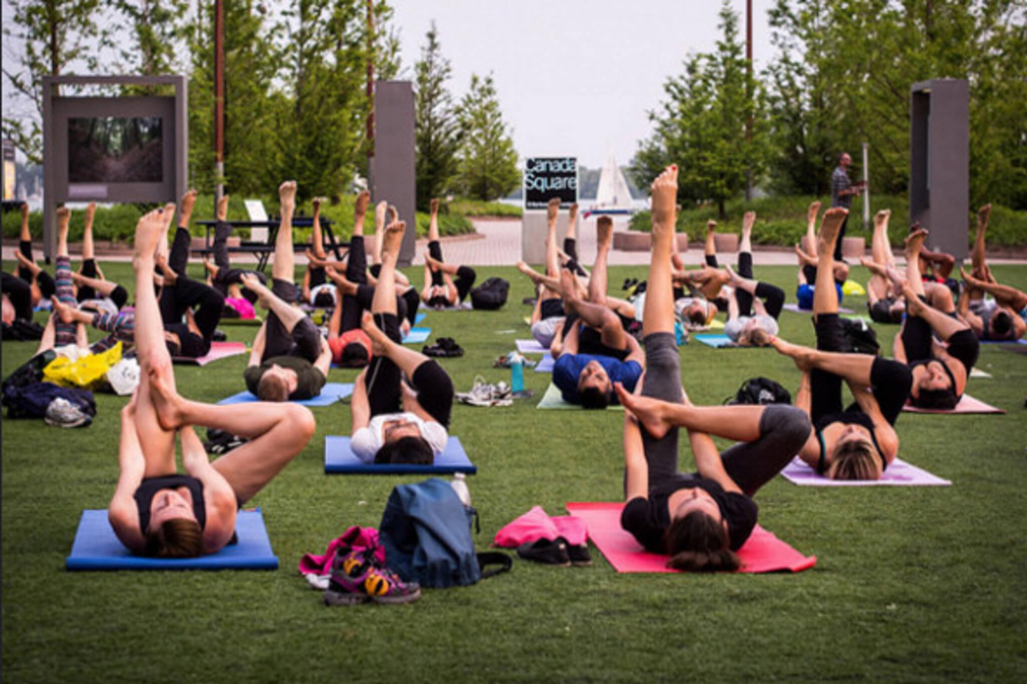 Outdoor Yoga toronto