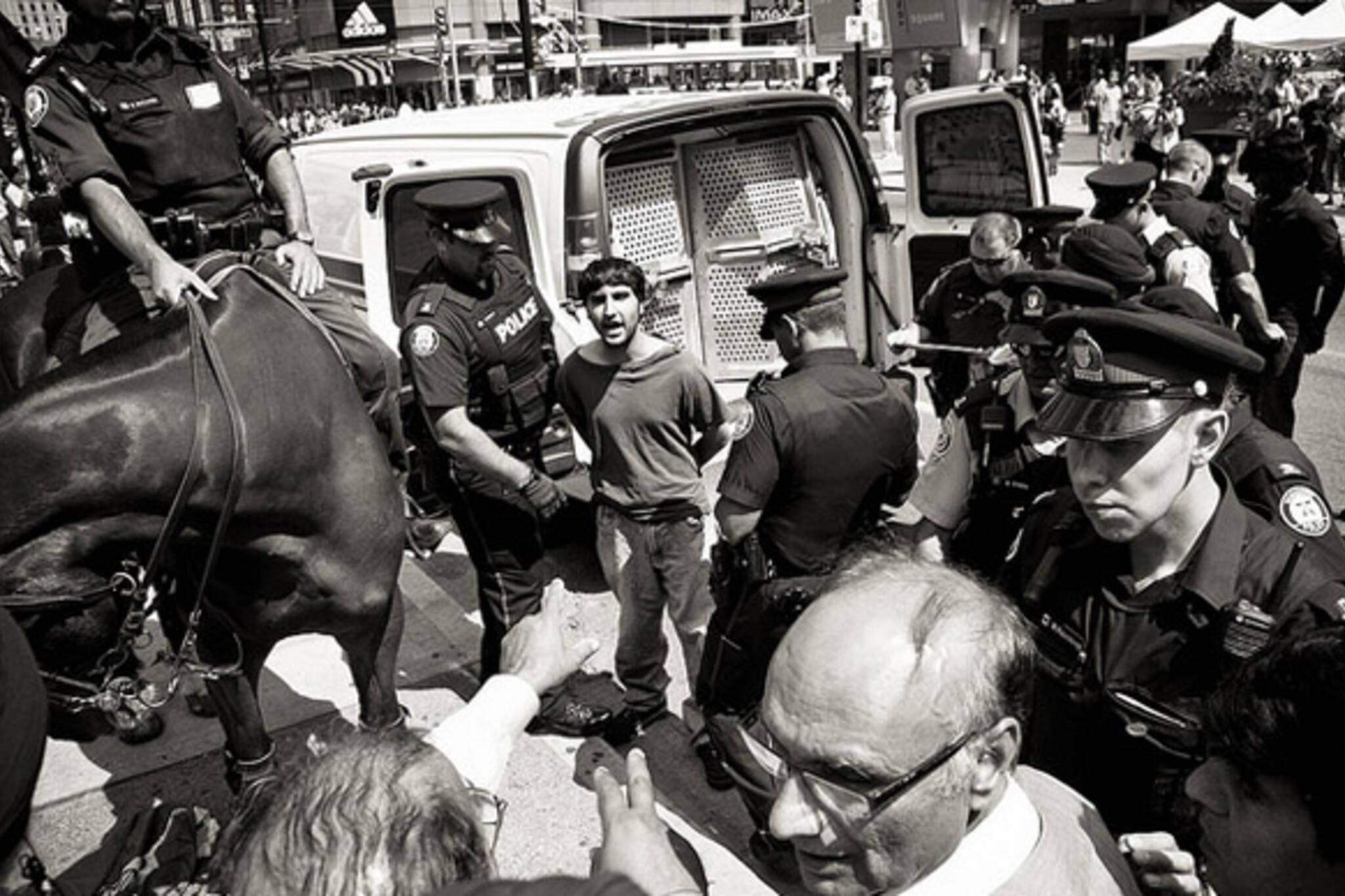 police, street, arrest