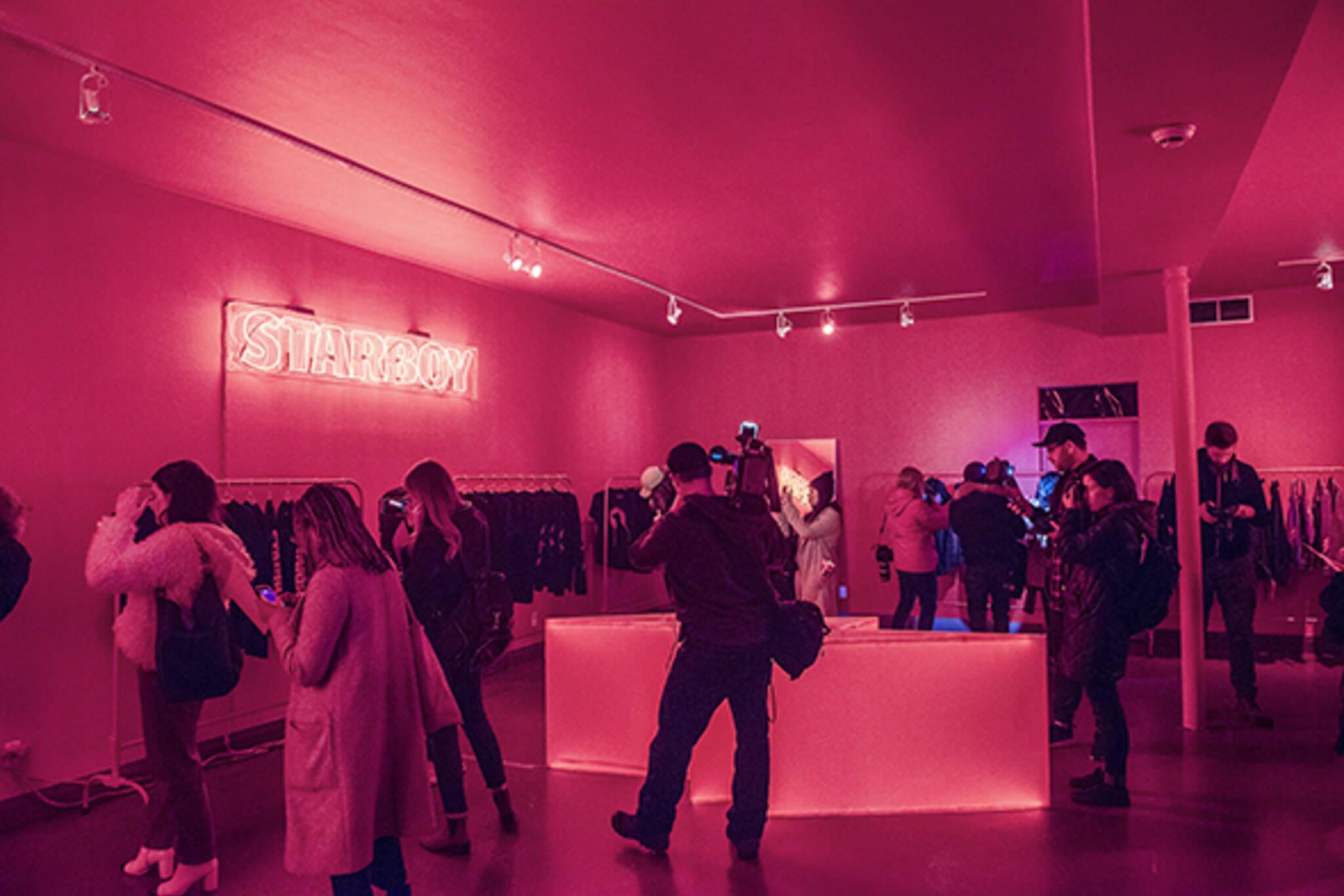Starboy Pop Up Shop Toronto Weeknd