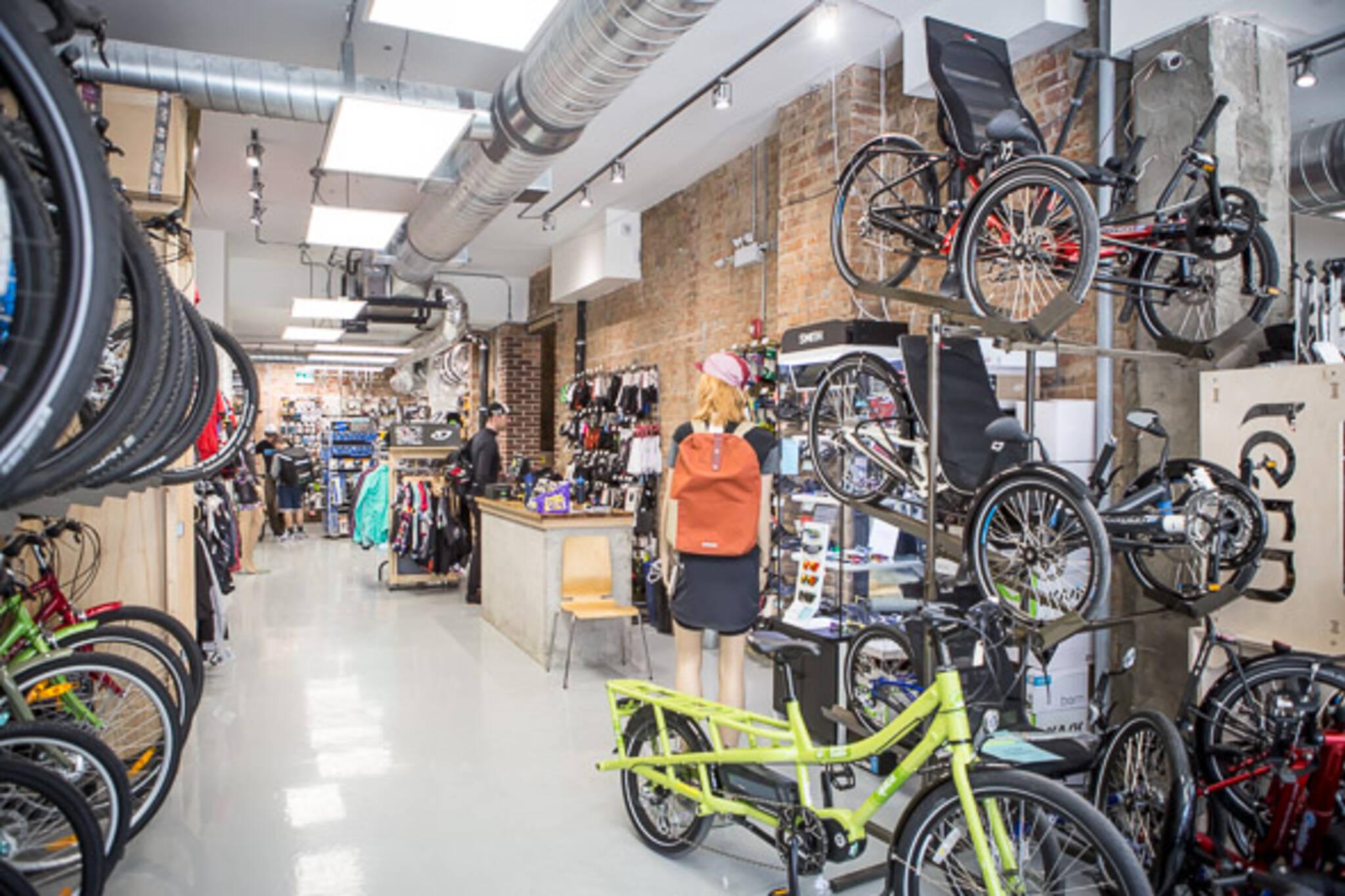 Toronto bike shop