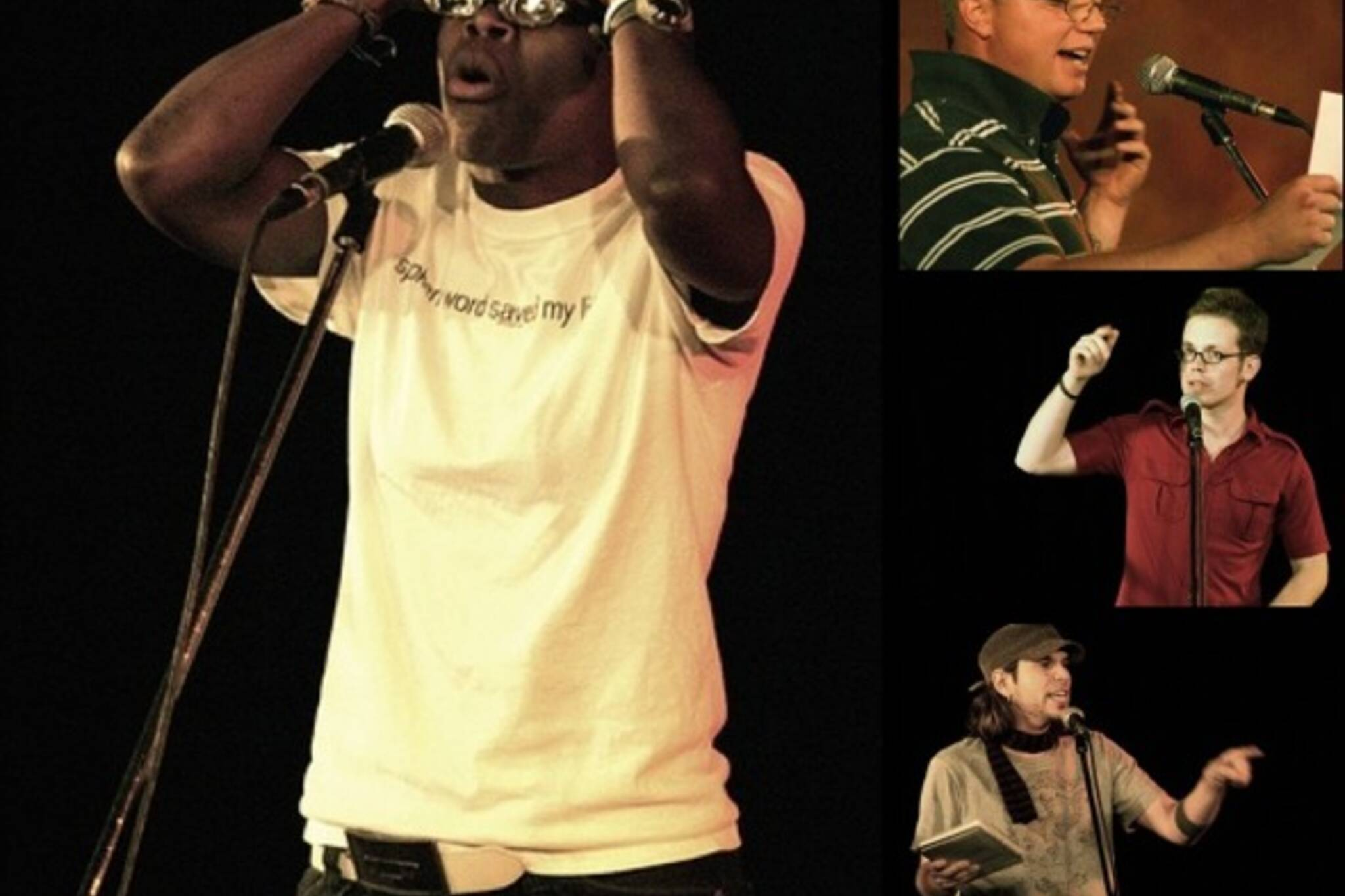 Toronto Poetry Slam - Photos by Roger Cullman.