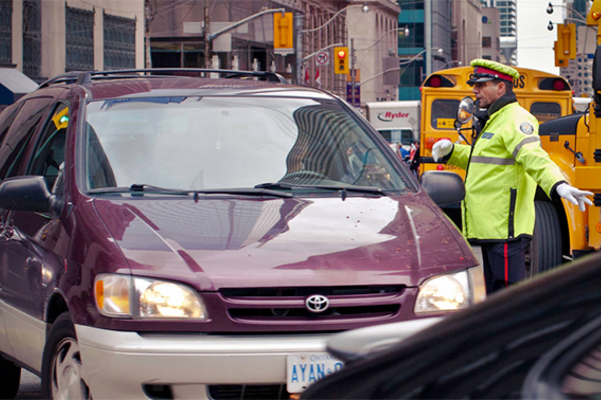 toronto traffic cops