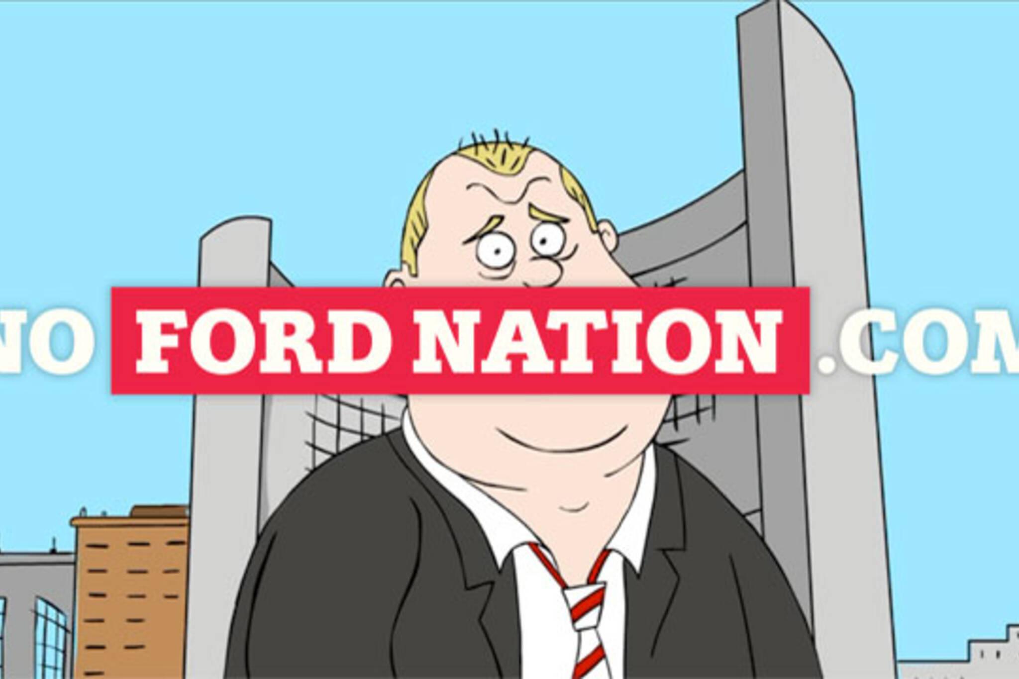 toronto rob ford cartoon