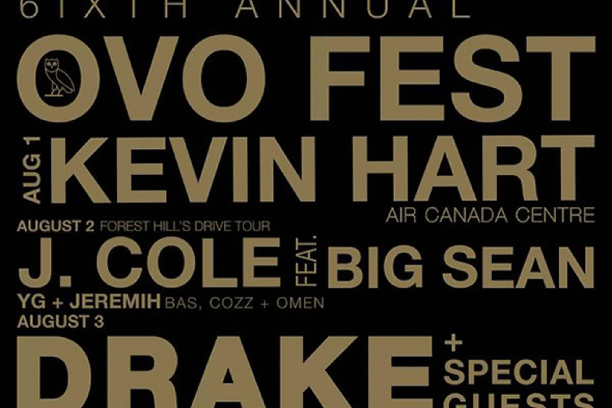 OVO Fest Toronto 2015