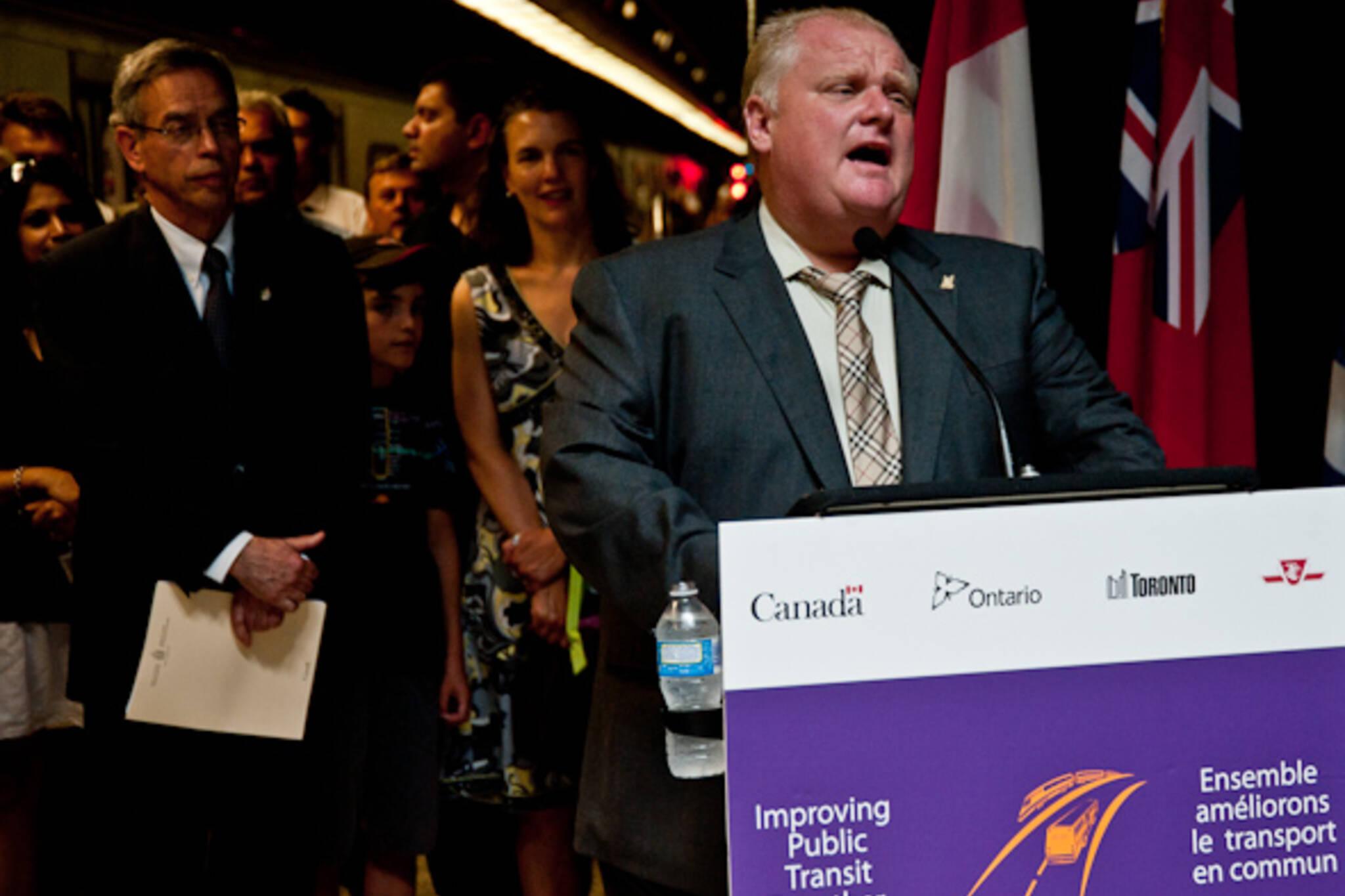 Toronto transit poll