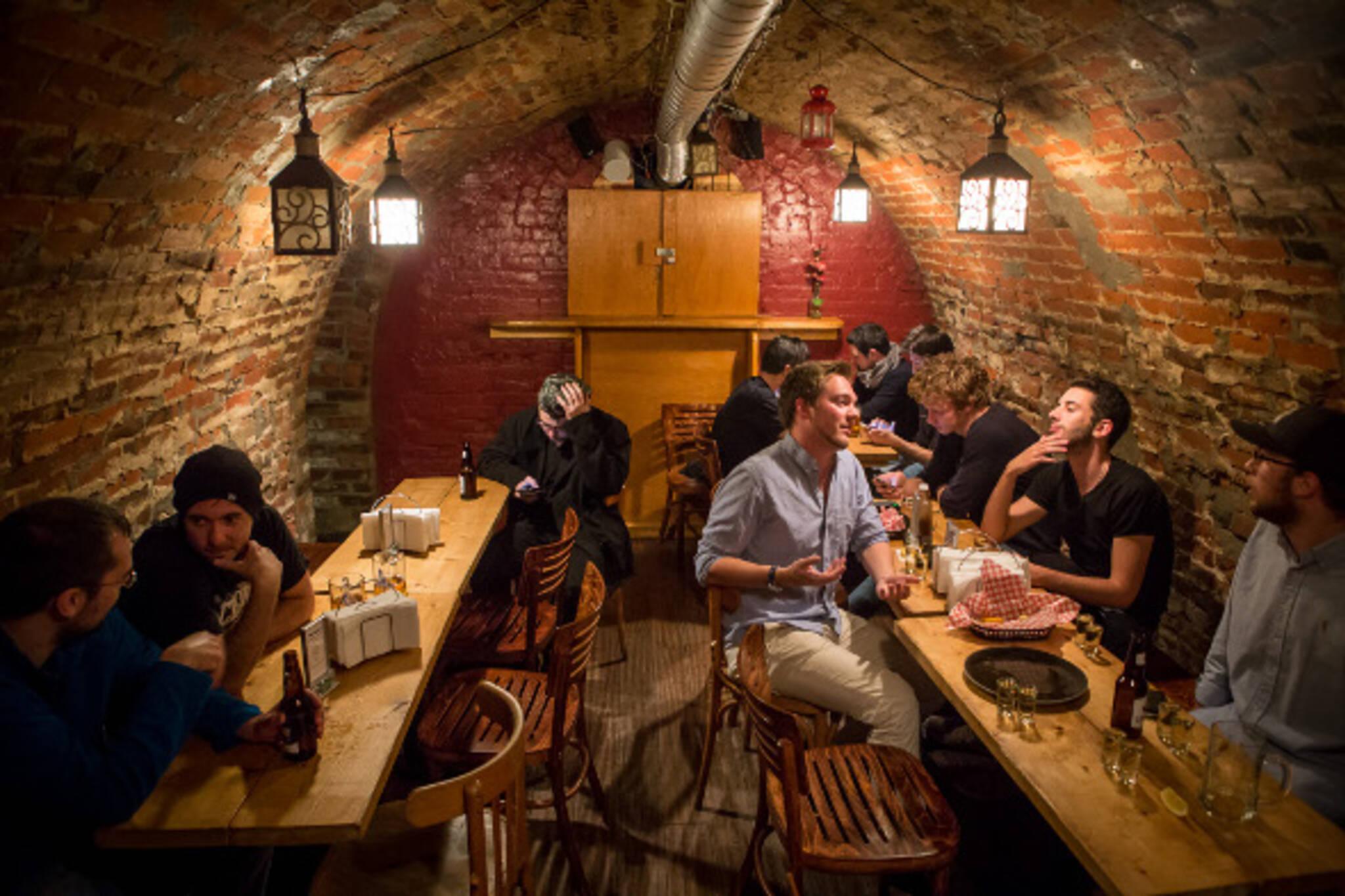 the cavern bar