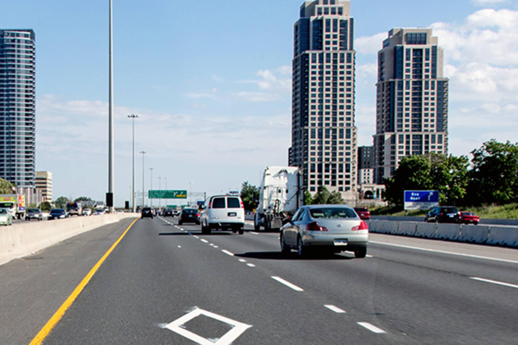 Pan Am HOV lanes Toronto