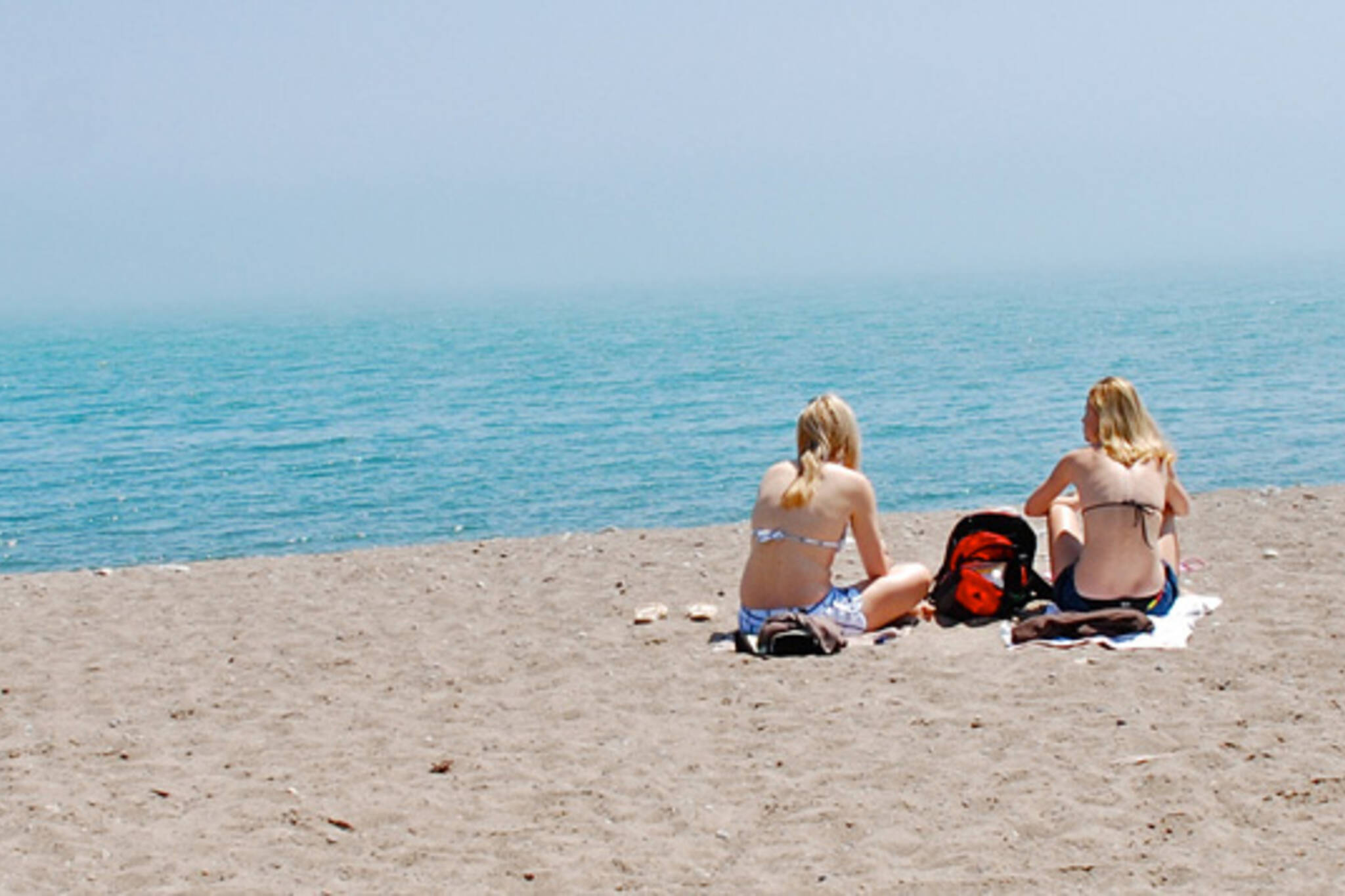 Toronto Heat Wave beach
