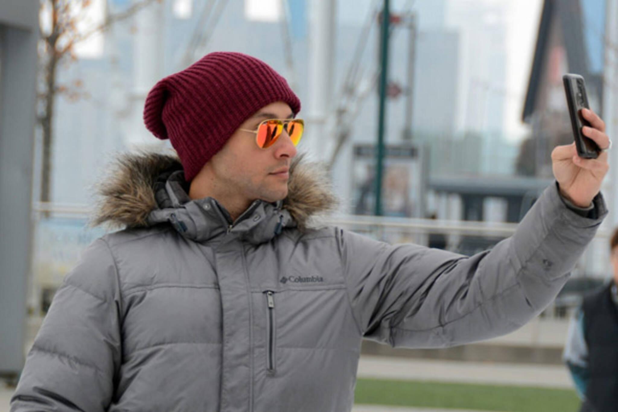 selfie toronto