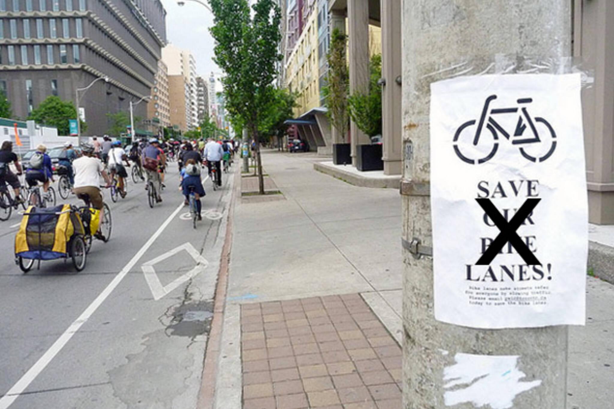 Jarvis Bike Lanes Dead