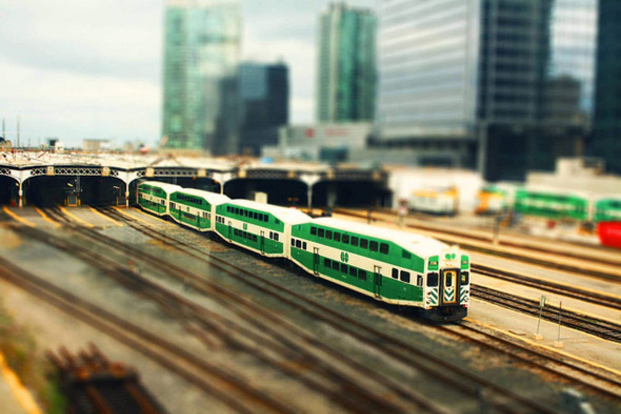 GO Transit refunds