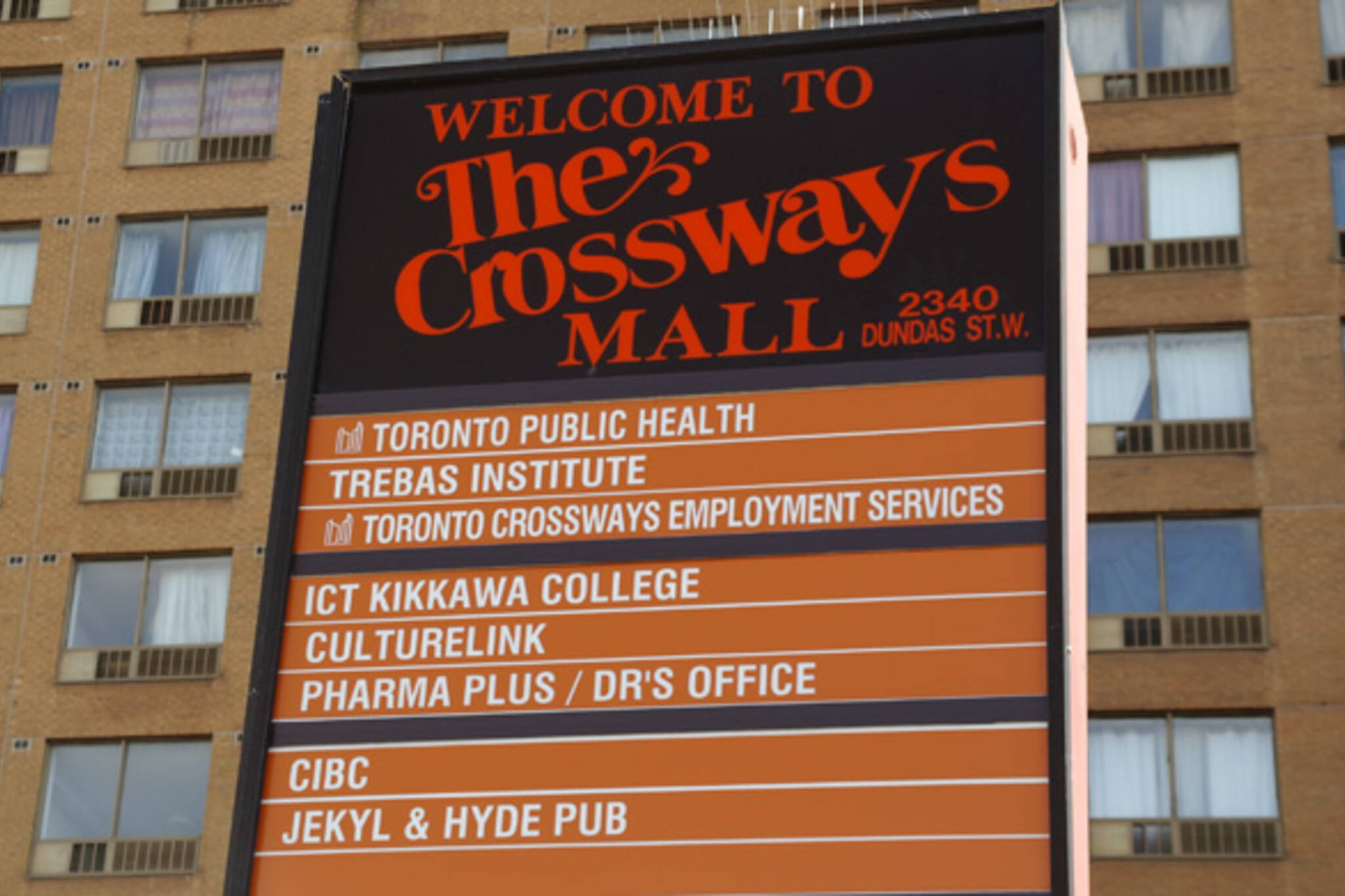 Crossways Mall Toronto
