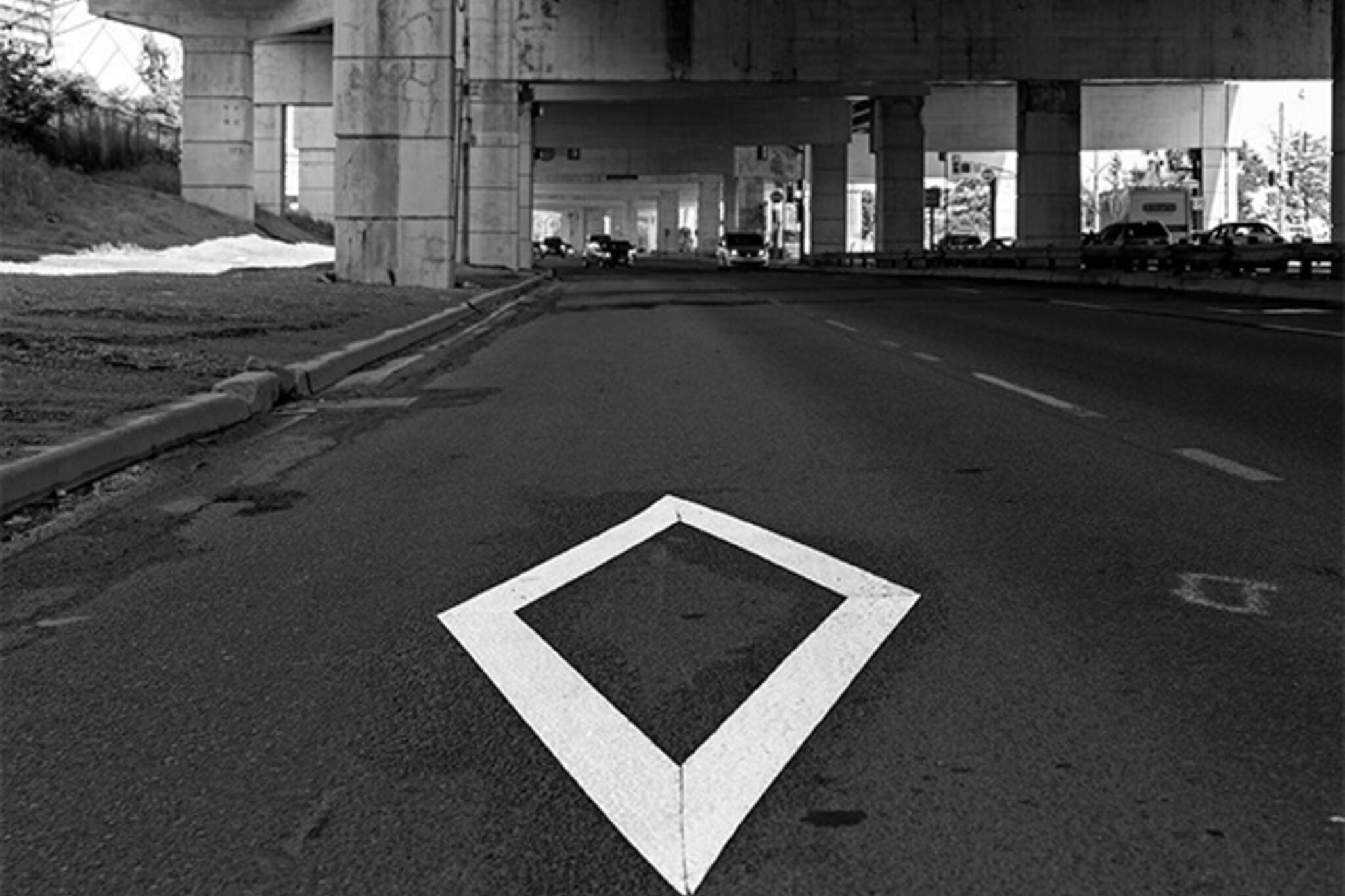 HOV lane toronto