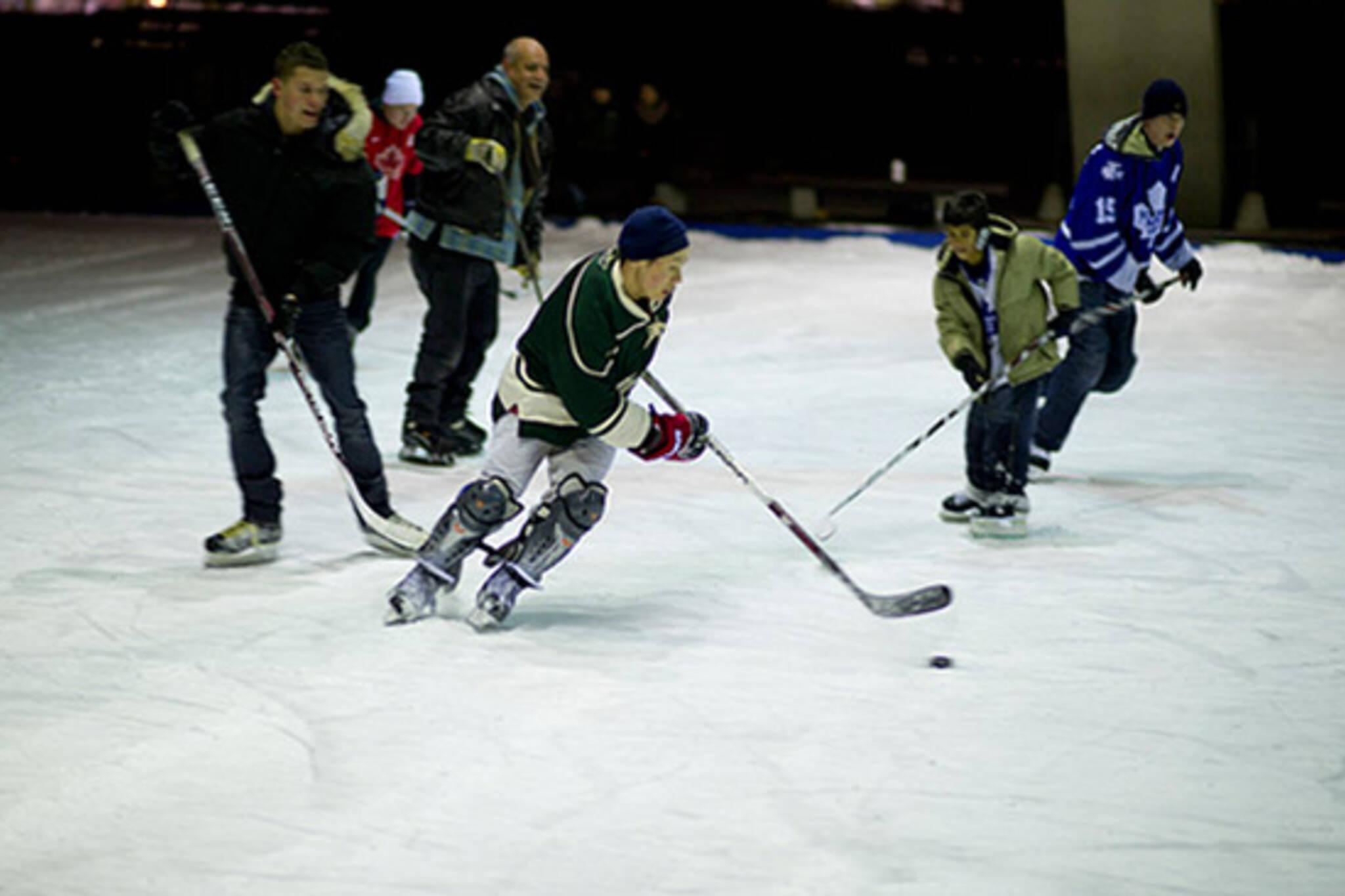 holiday hockey