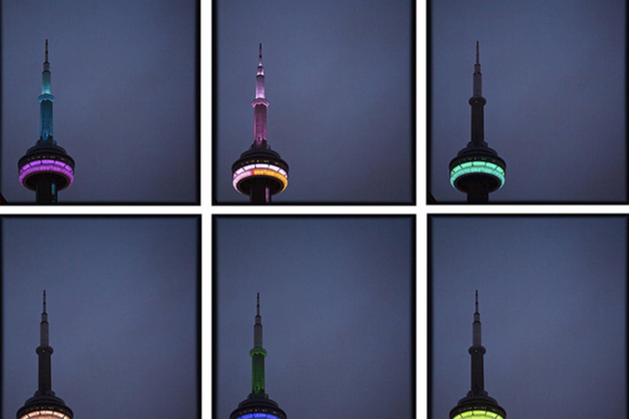 CN Tower Lights