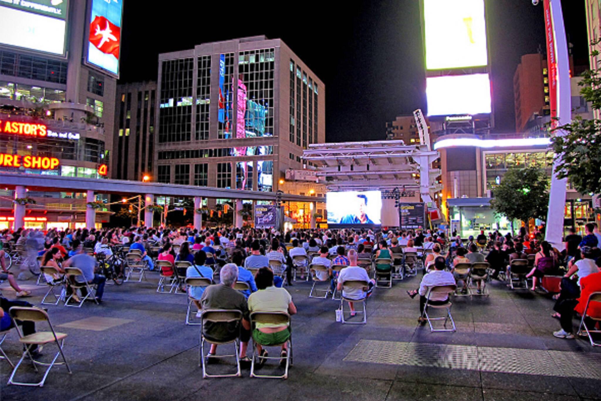 Yonge Dundas movie Toronto
