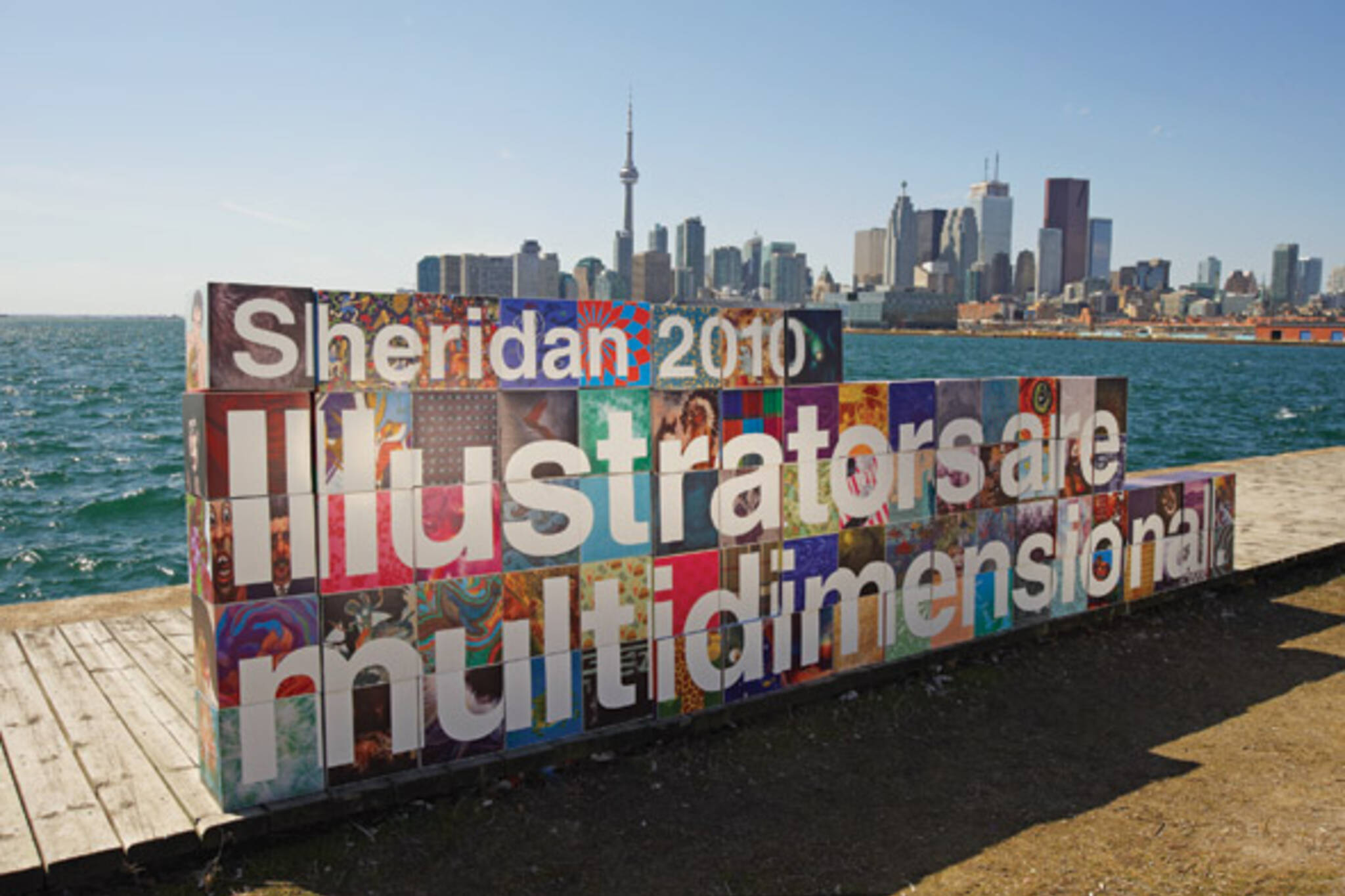 Sheridan College illustration
