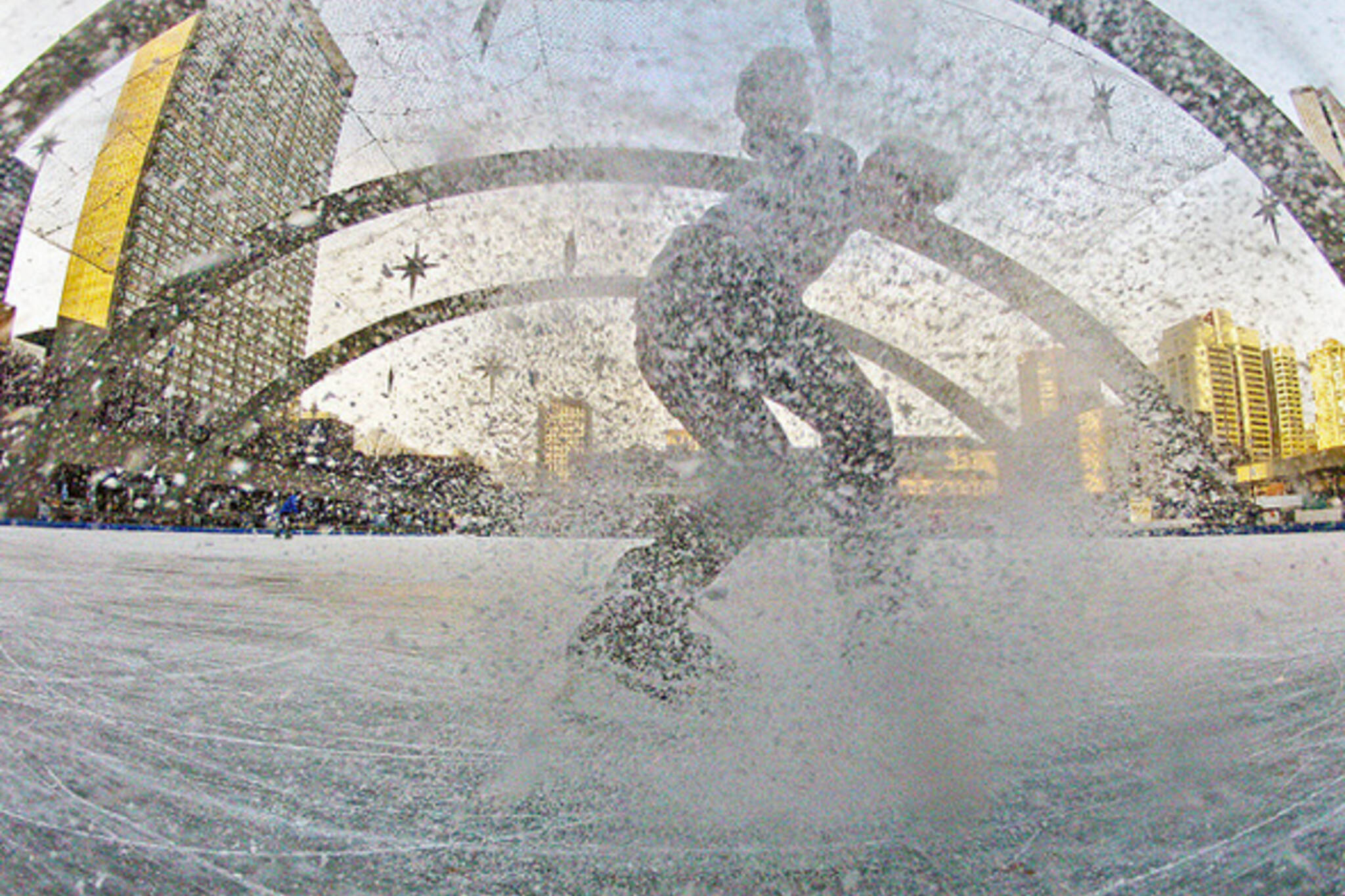 Outdoor Ice Skating Toronto
