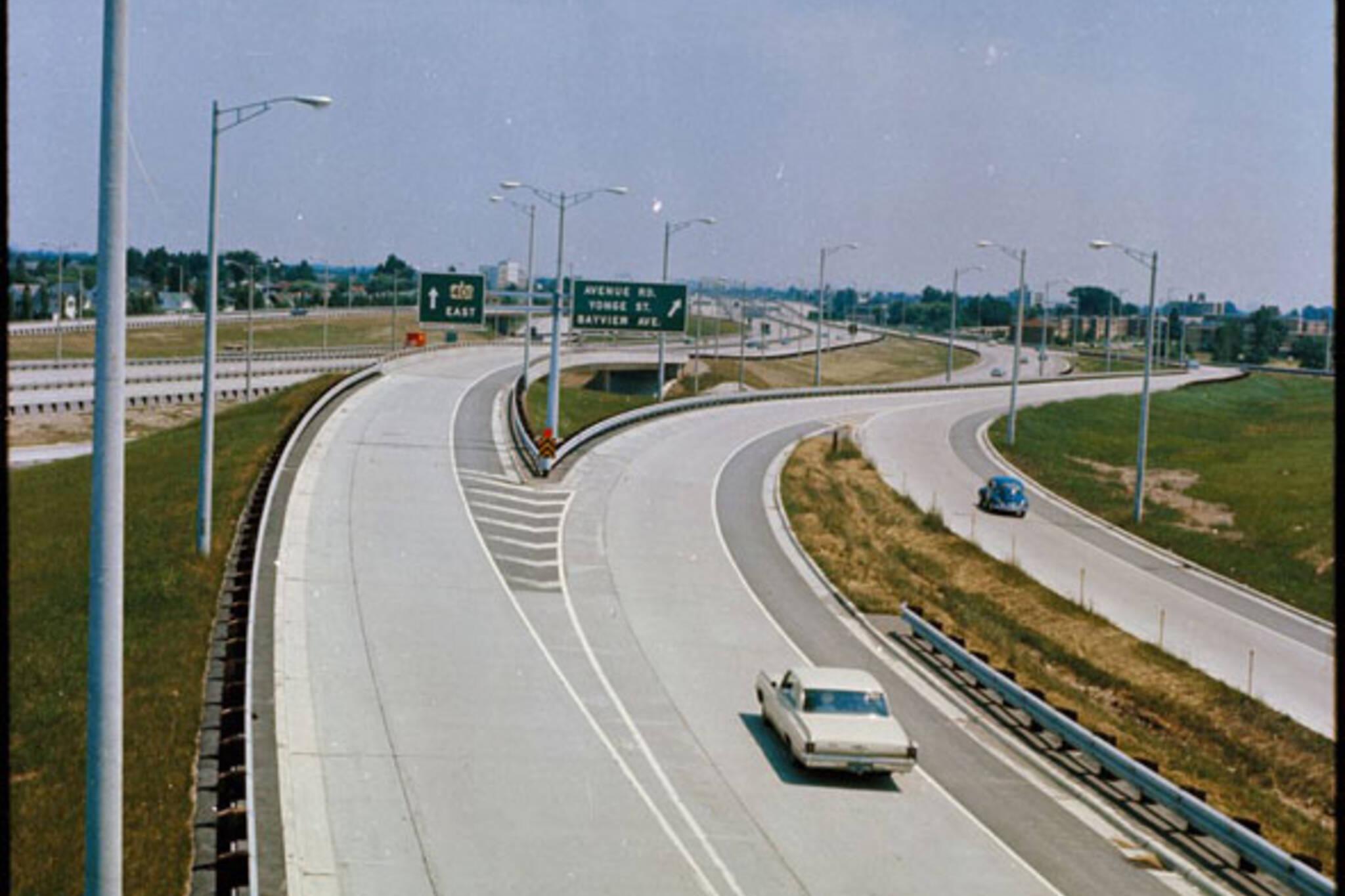 toronto 401 1960s