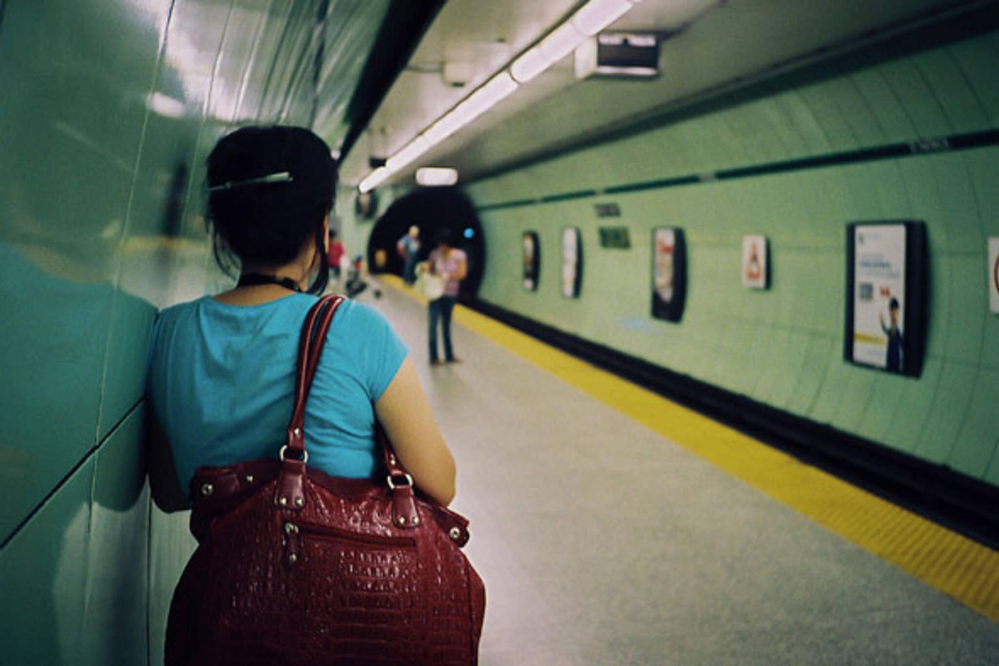 toronto st patrick subway platform ttc