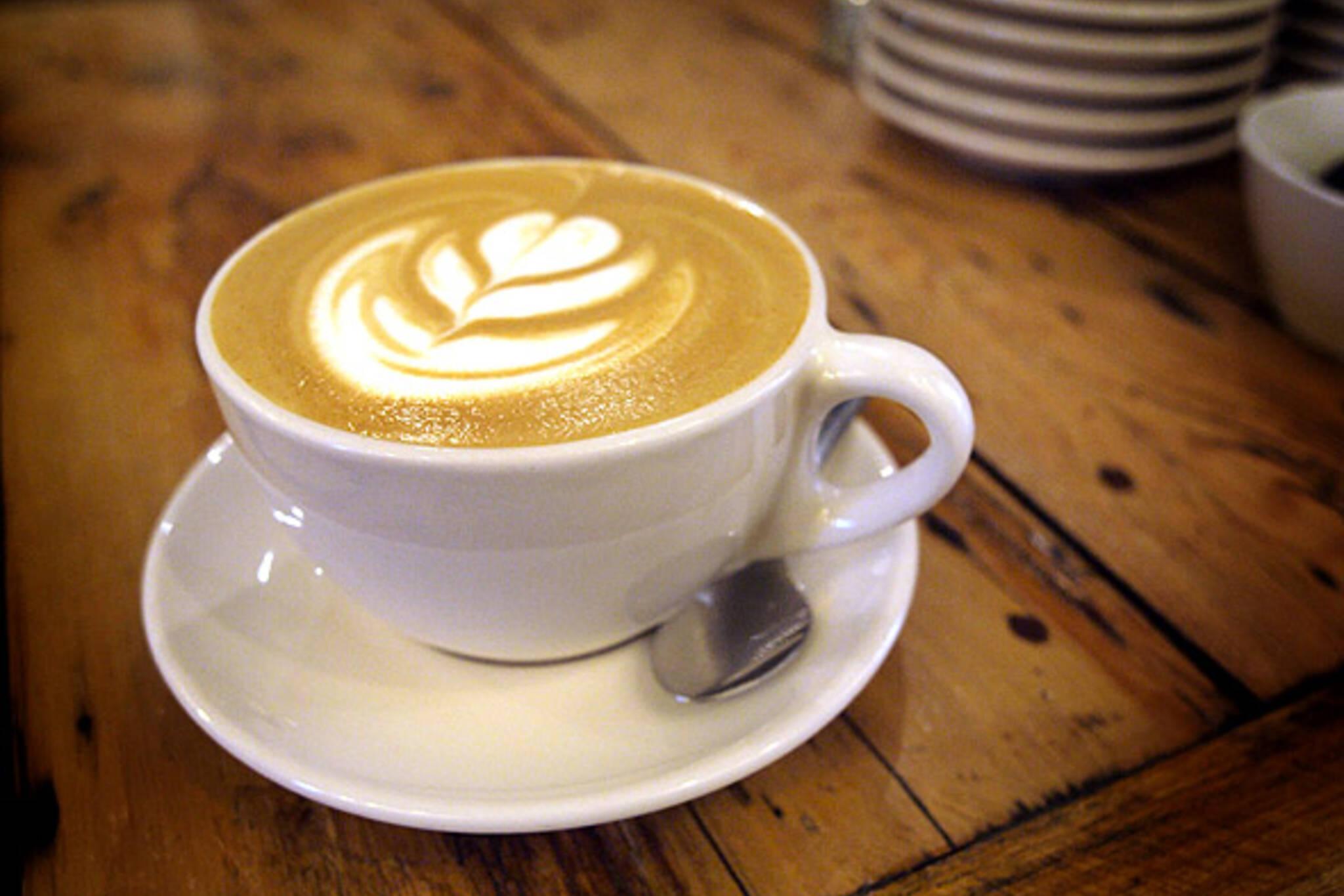 Peanut Butter Caramel Latte