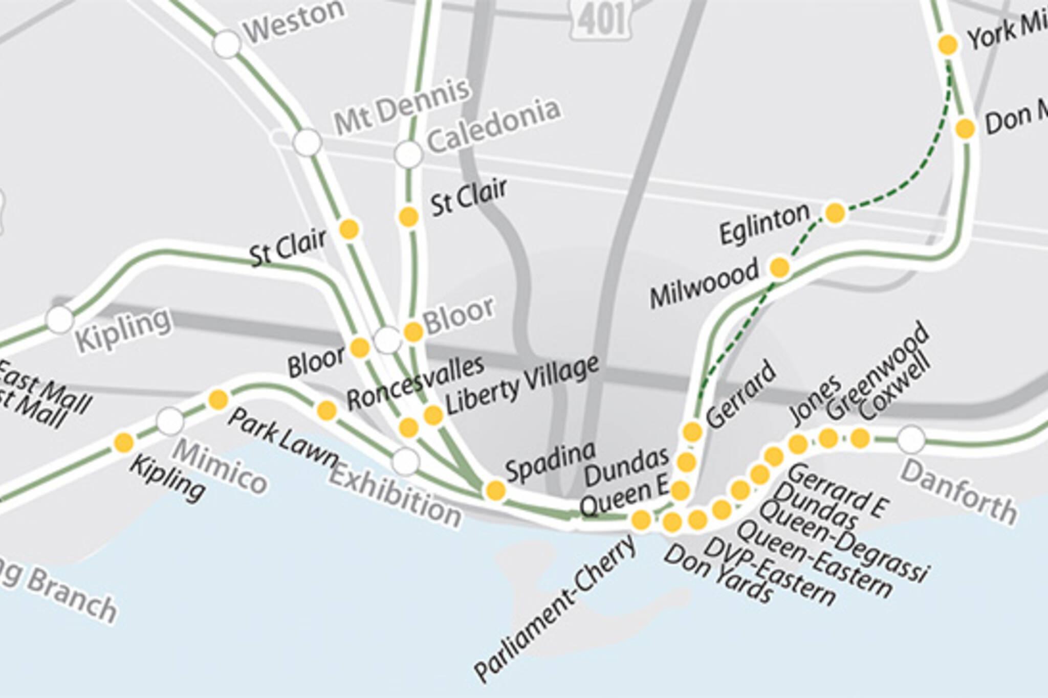GO stations toronto