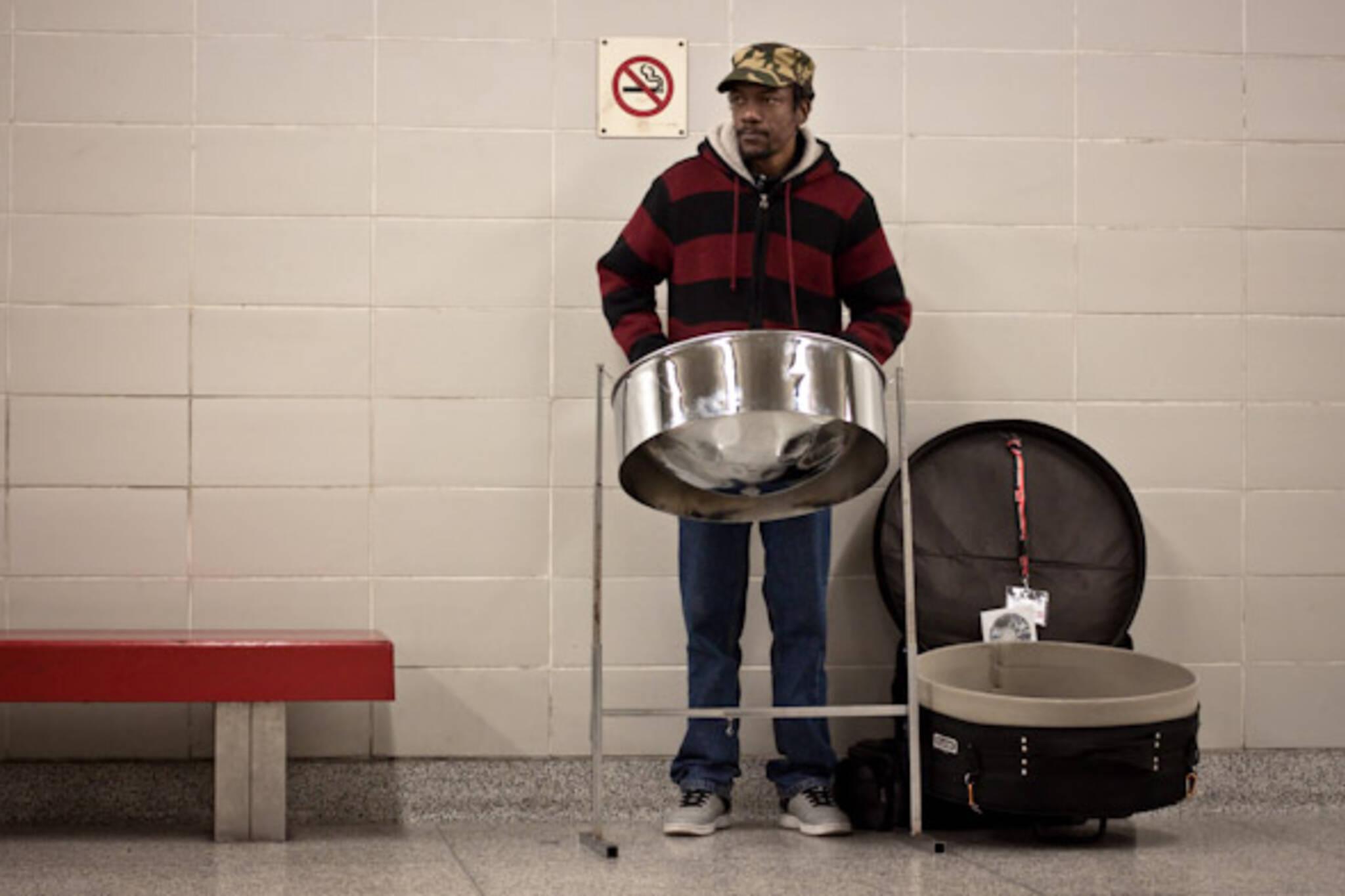 TTC Busker Steel Drum Dwight Belgrove