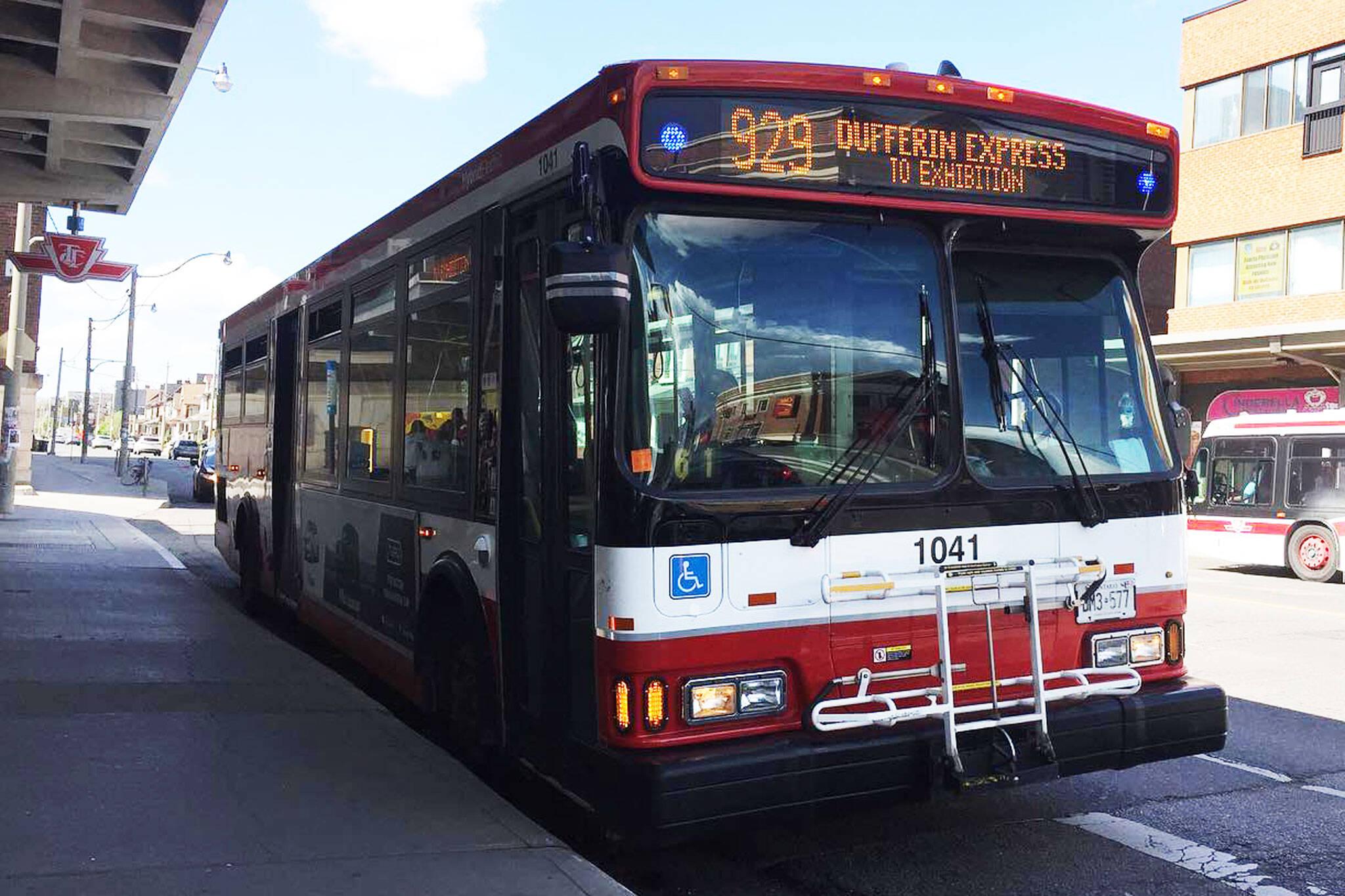 dufferin bus
