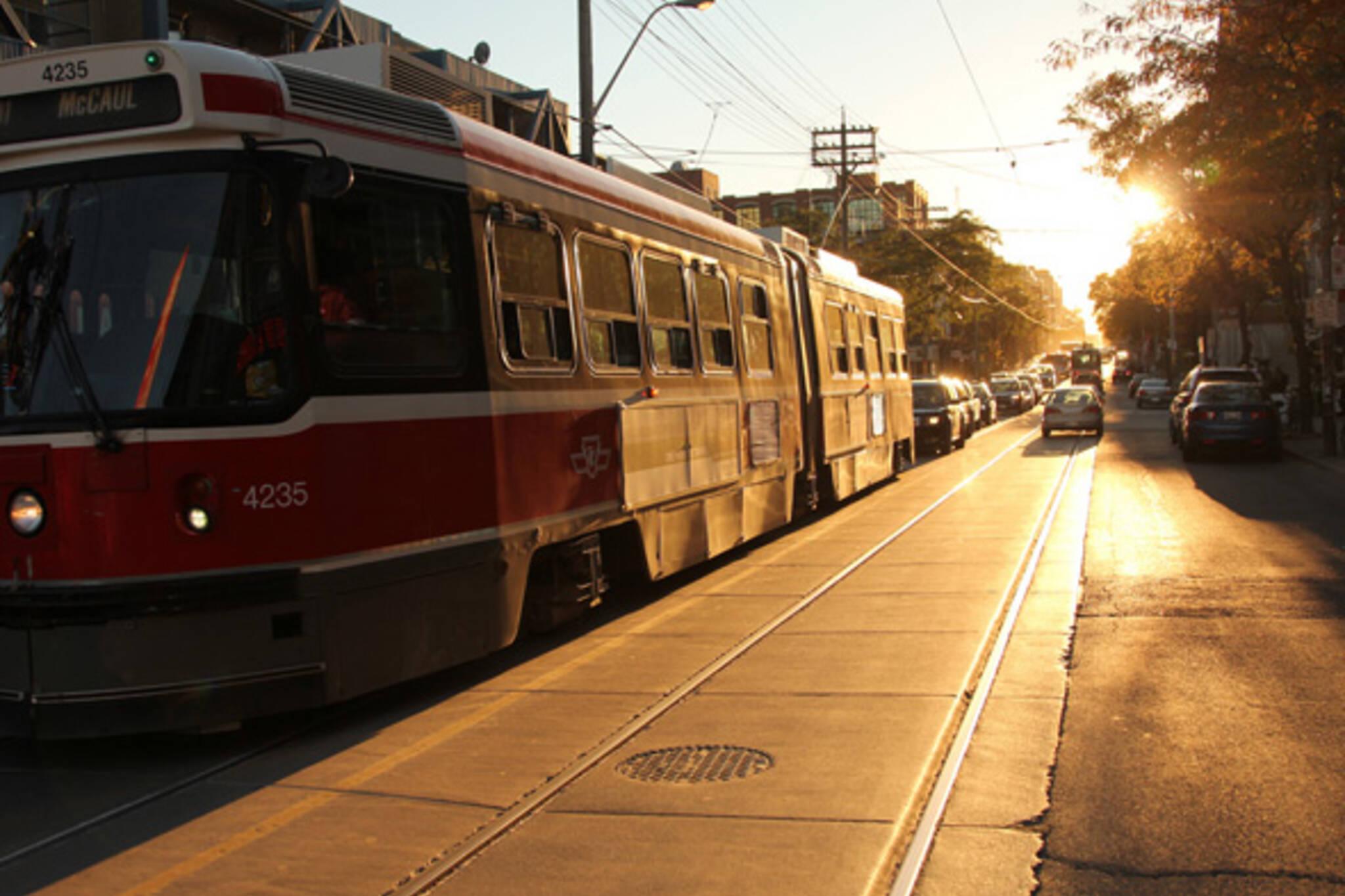 Streetcar Morning Toronto