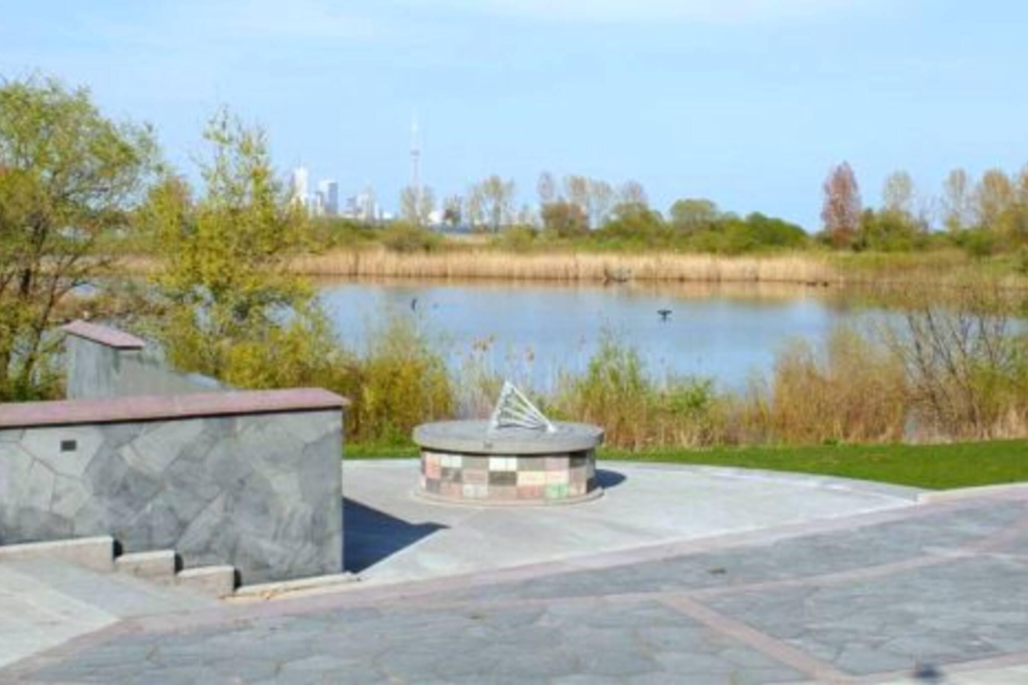 Air India Flight 182 memorial in Humber Bay Park