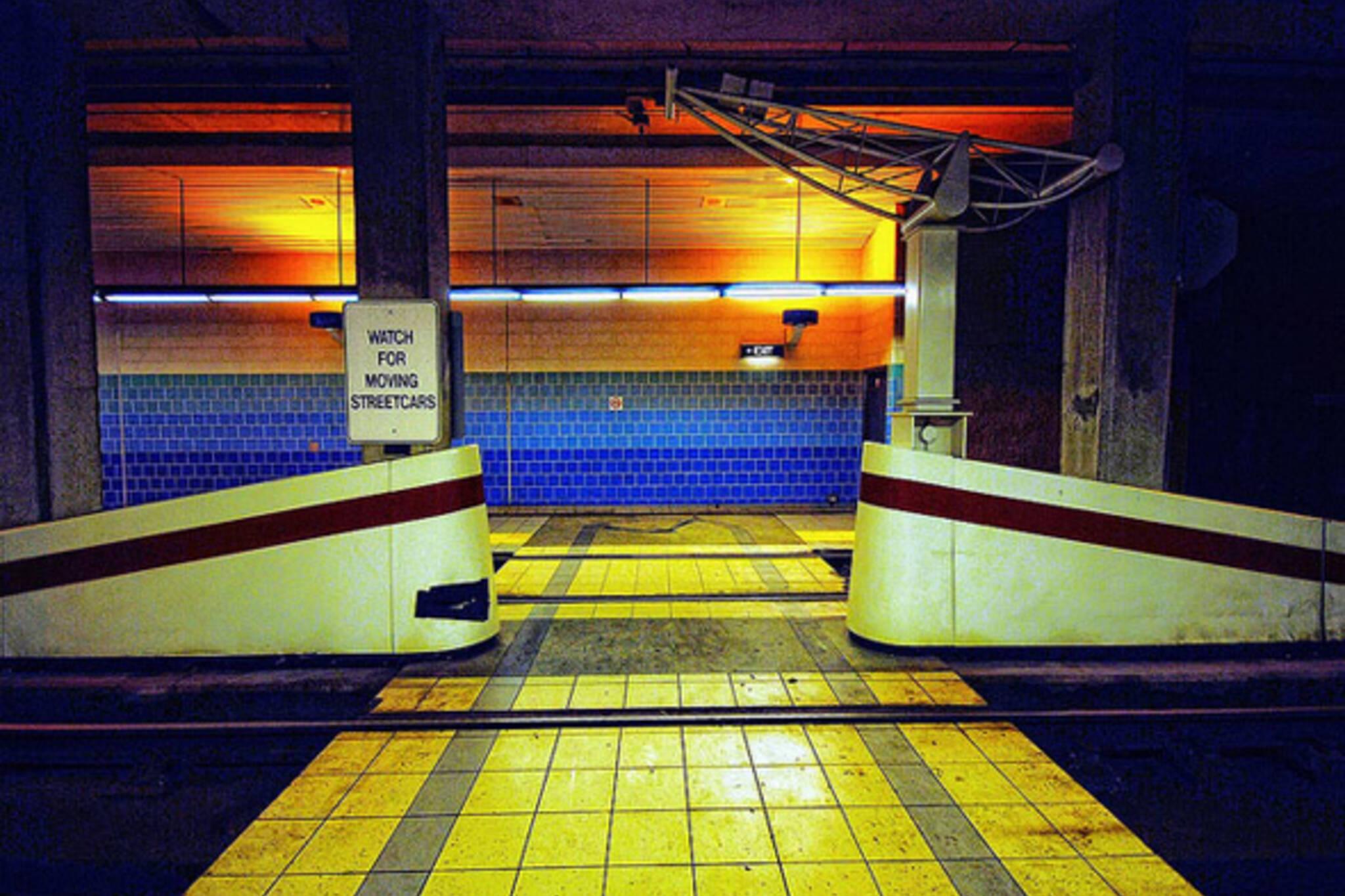 ttc, streetcar, station