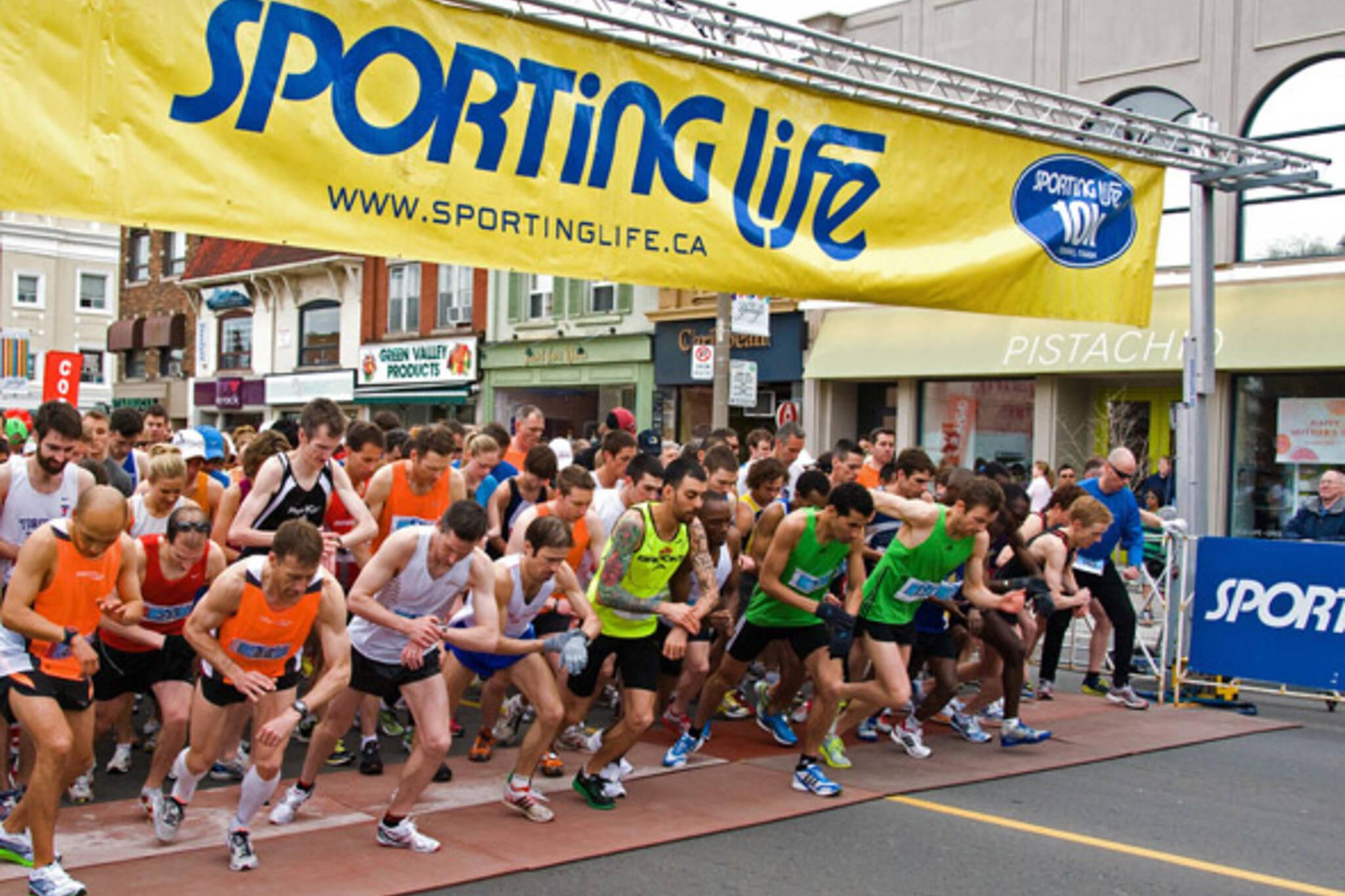 10k Sporting Life Run Toronto