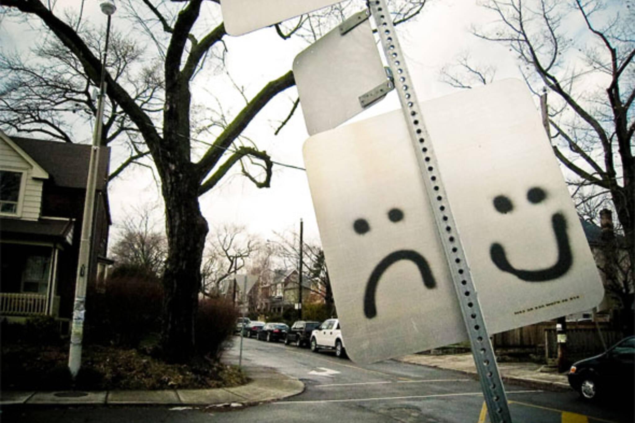 drama street sign toronto