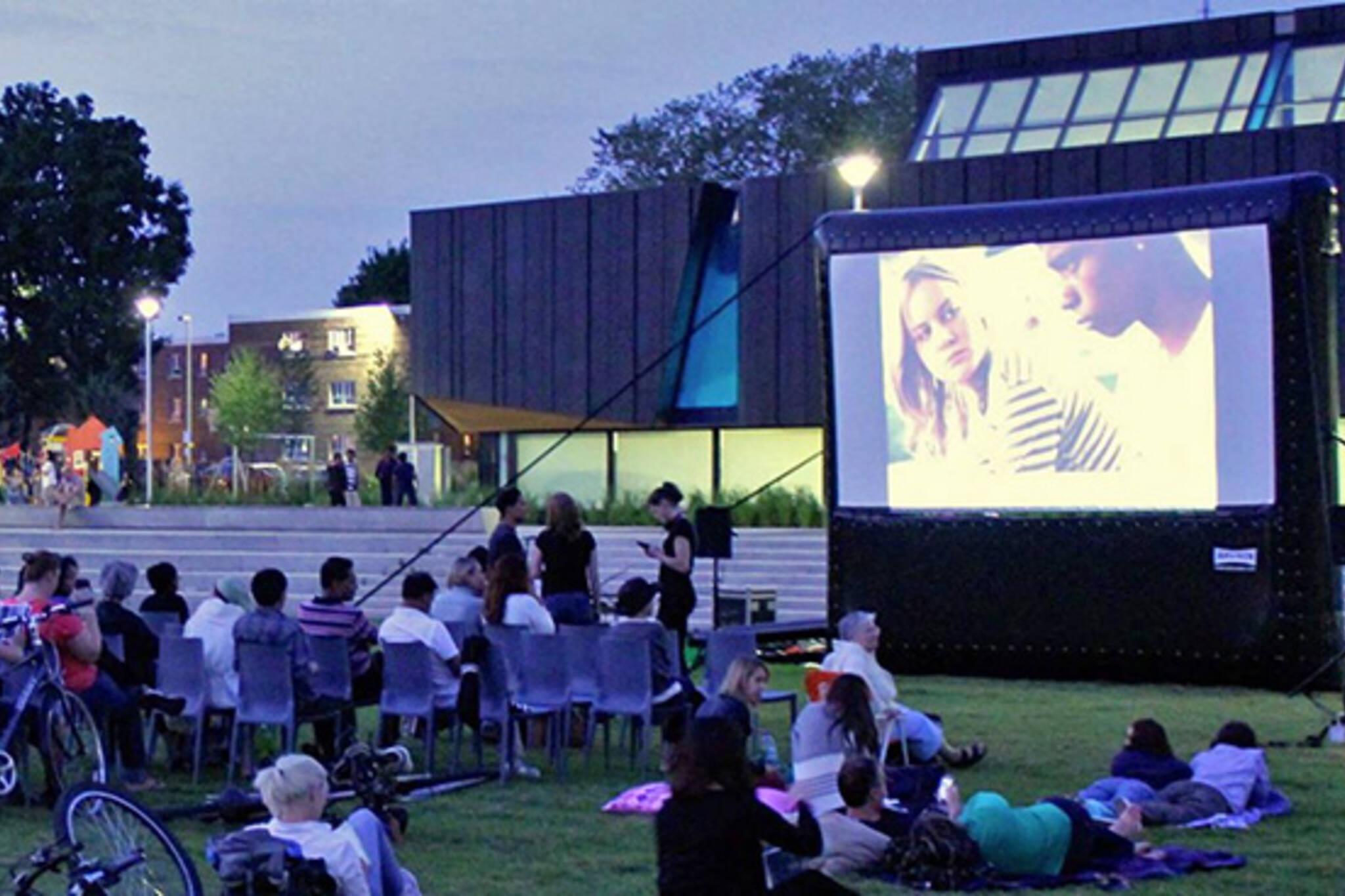 Regent Park outdoor movies