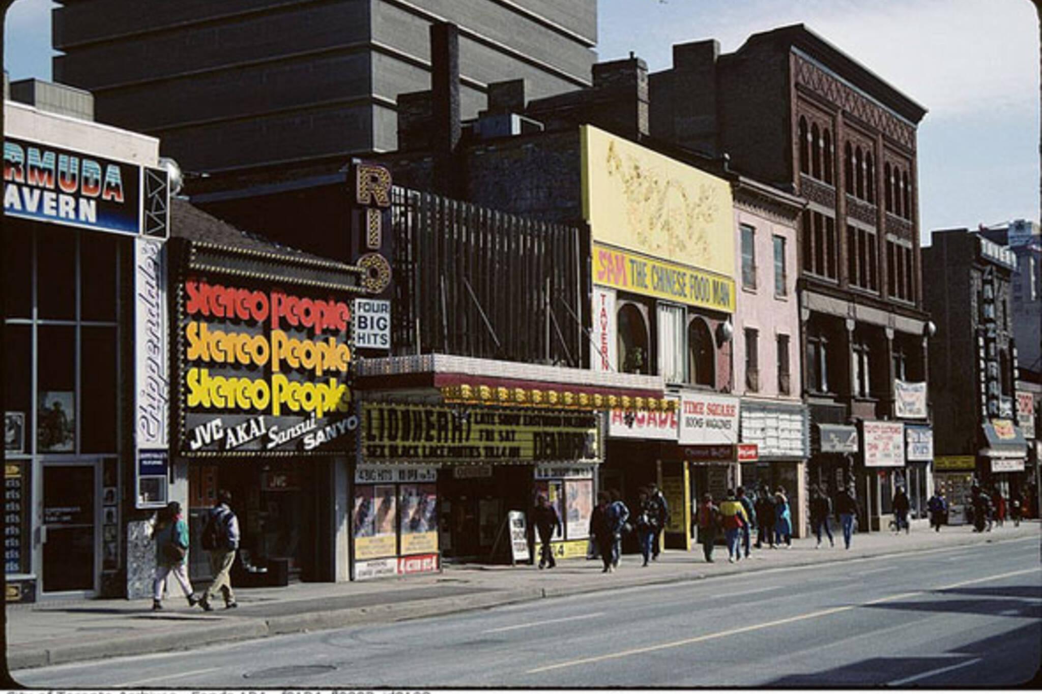 toronto theatre rio