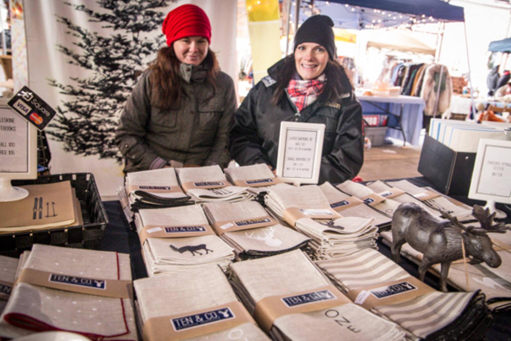 winter flea markets