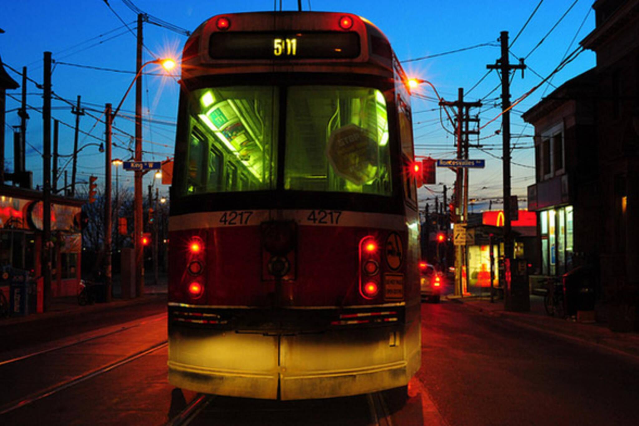 511 Streetcar Toronto