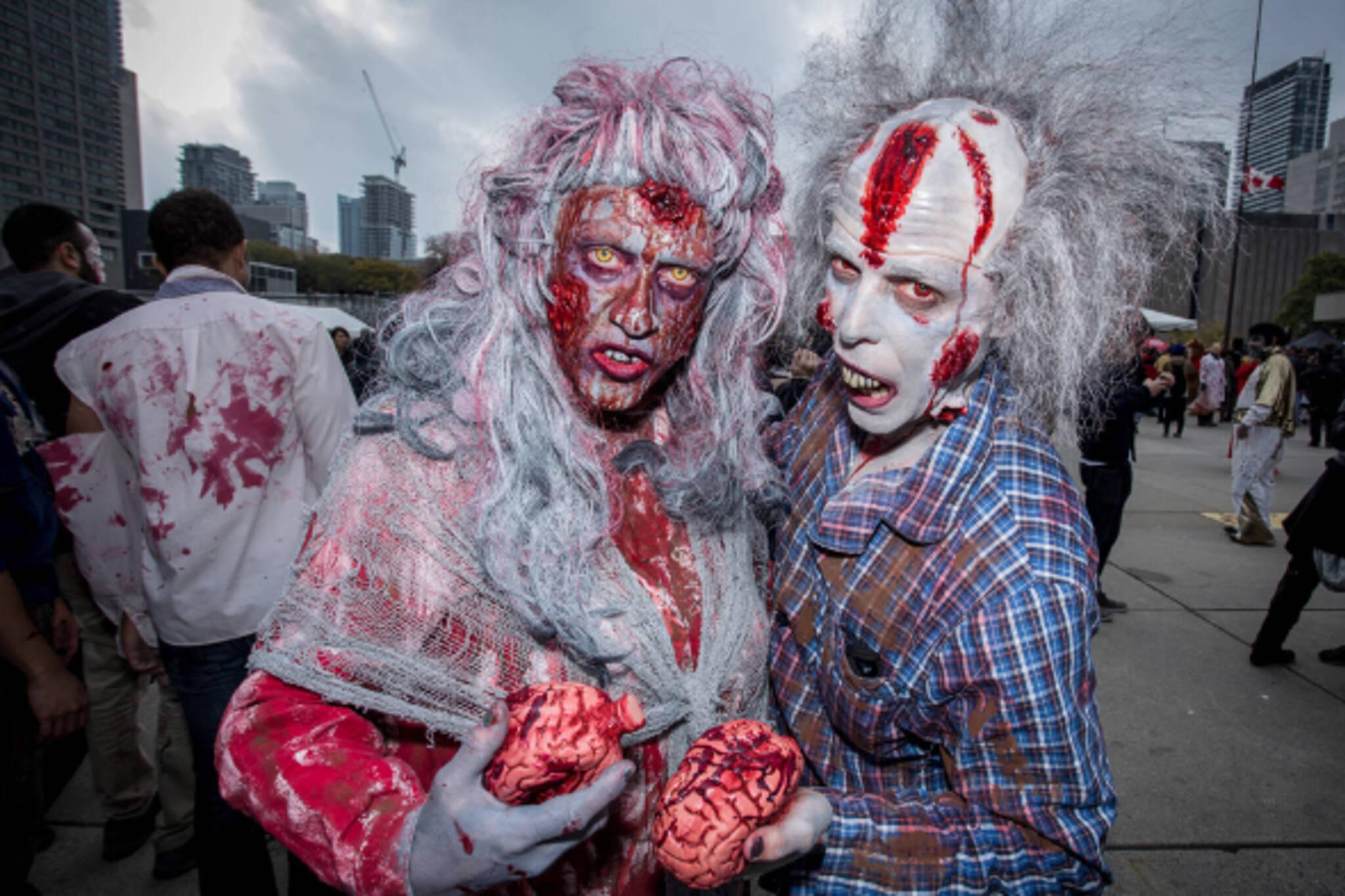 zombie walk toronto
