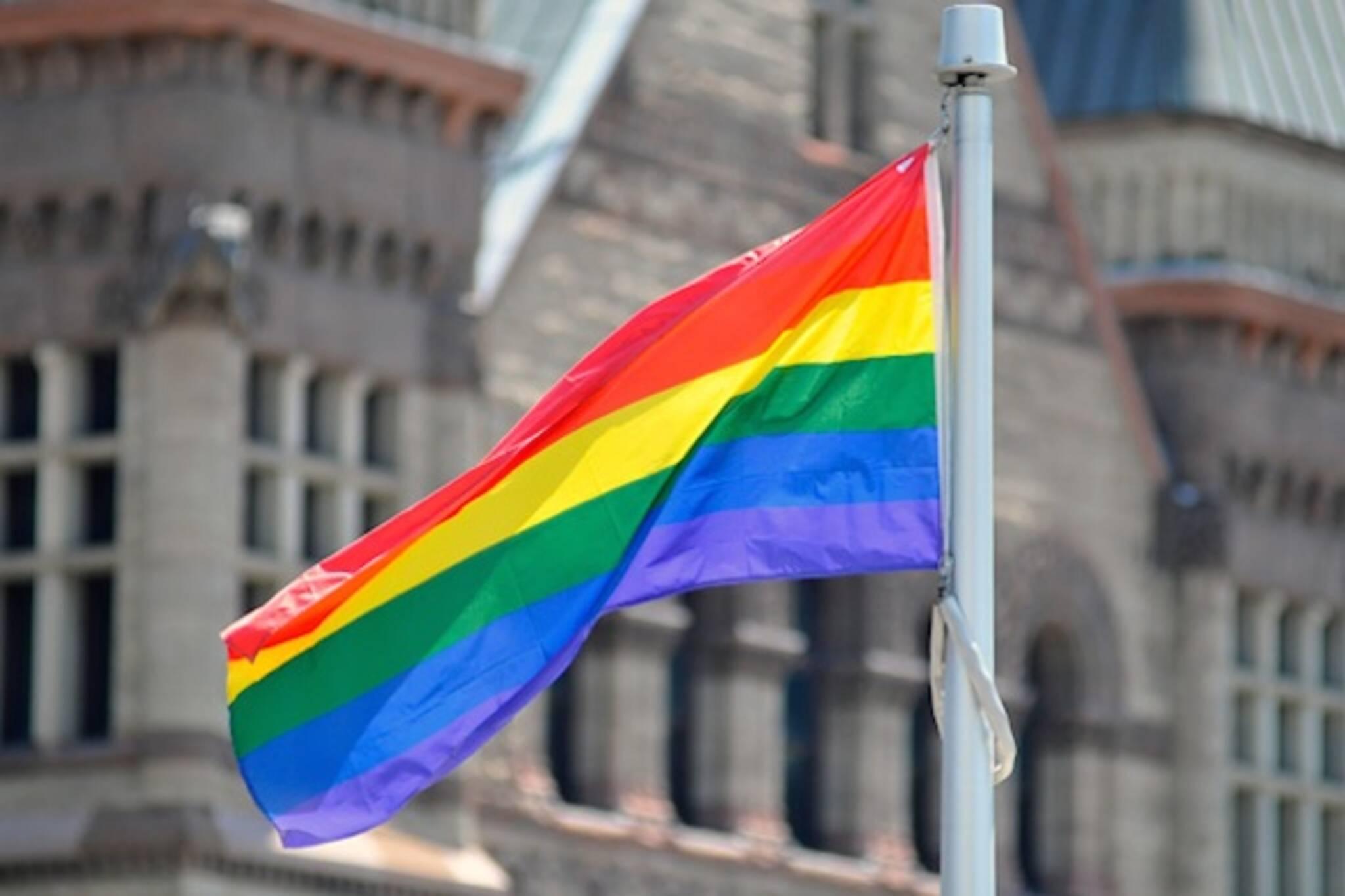 City Hall Pride Flag