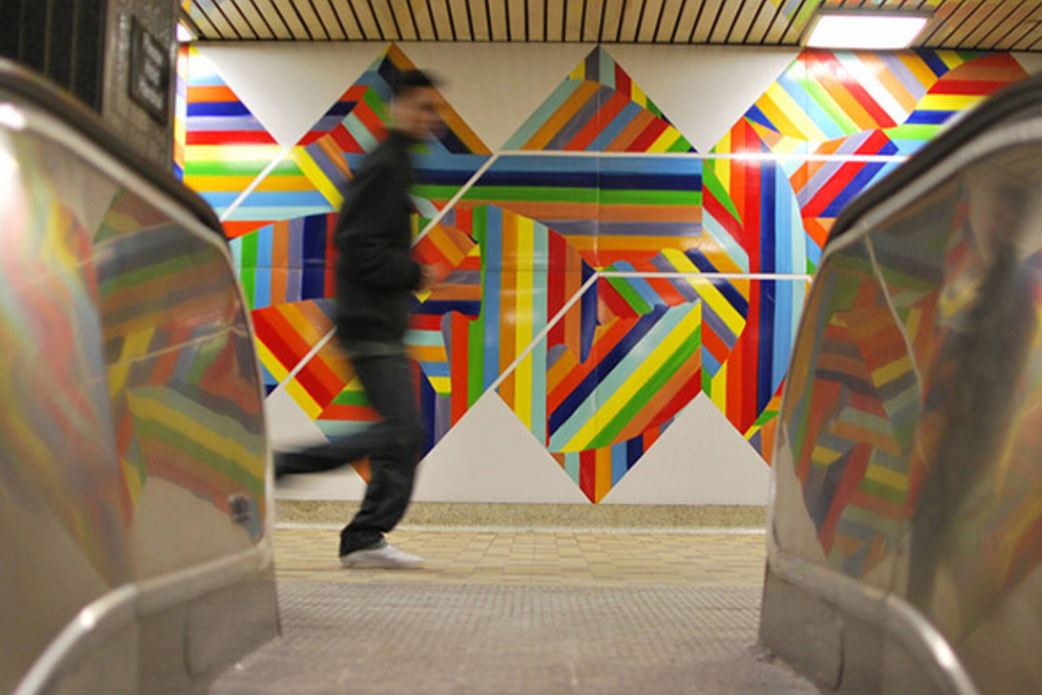 toronto, subway, run