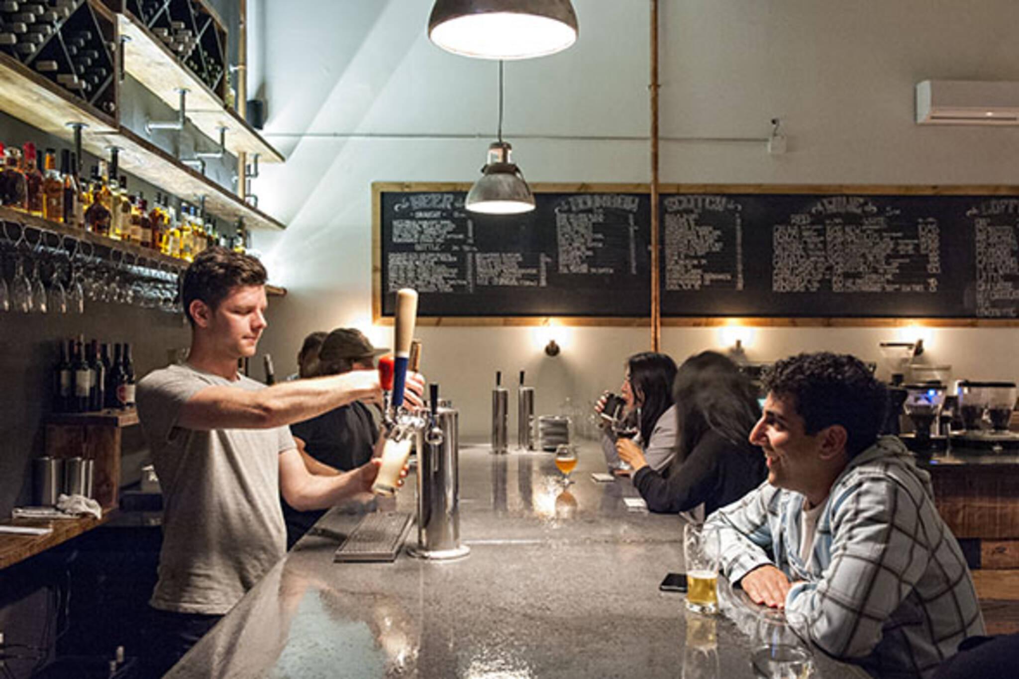 toronto cafes booze