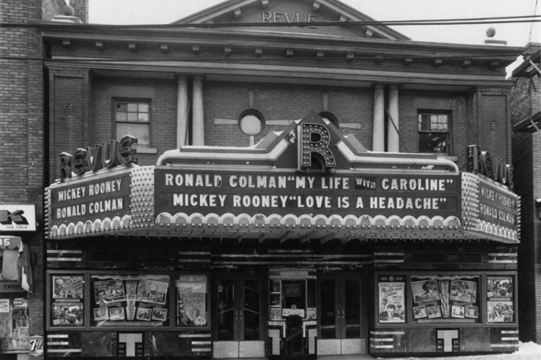 Toronto cinema history