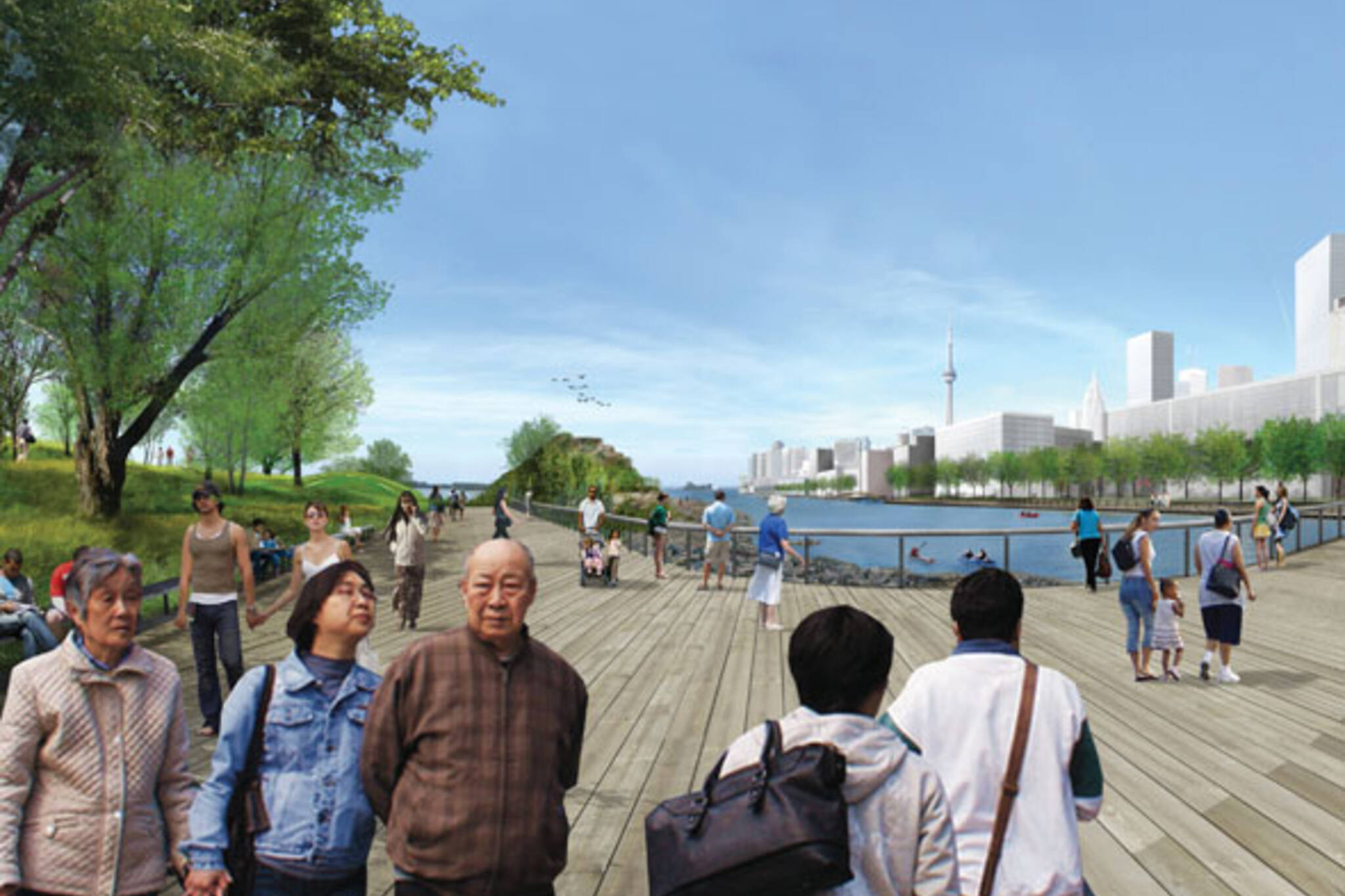 toronto port lands acceleration initiative trinity street bridge
