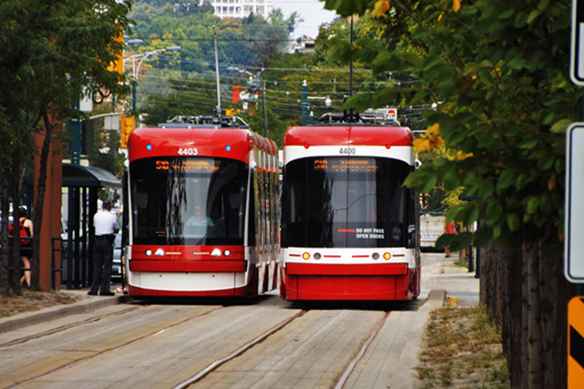 new streetcar ttc toronto