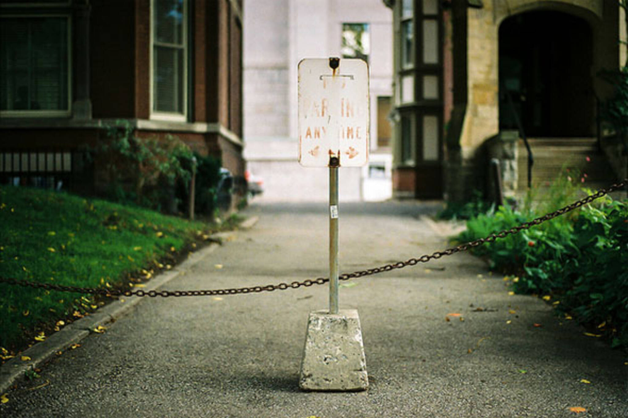 toronto parking sign