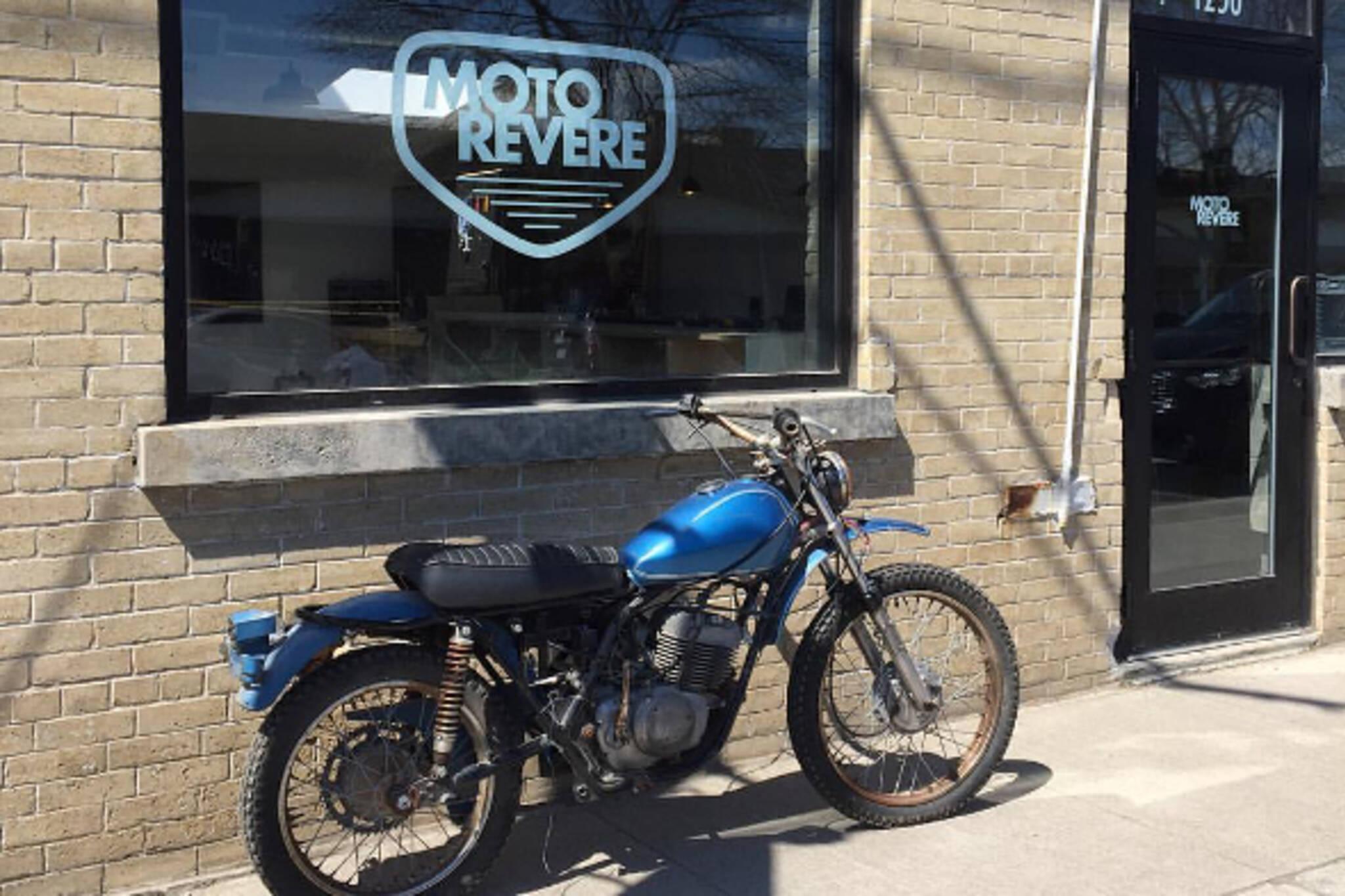 Toronto gets its first diy motorcycle workshop moto revere toronto solutioingenieria Choice Image
